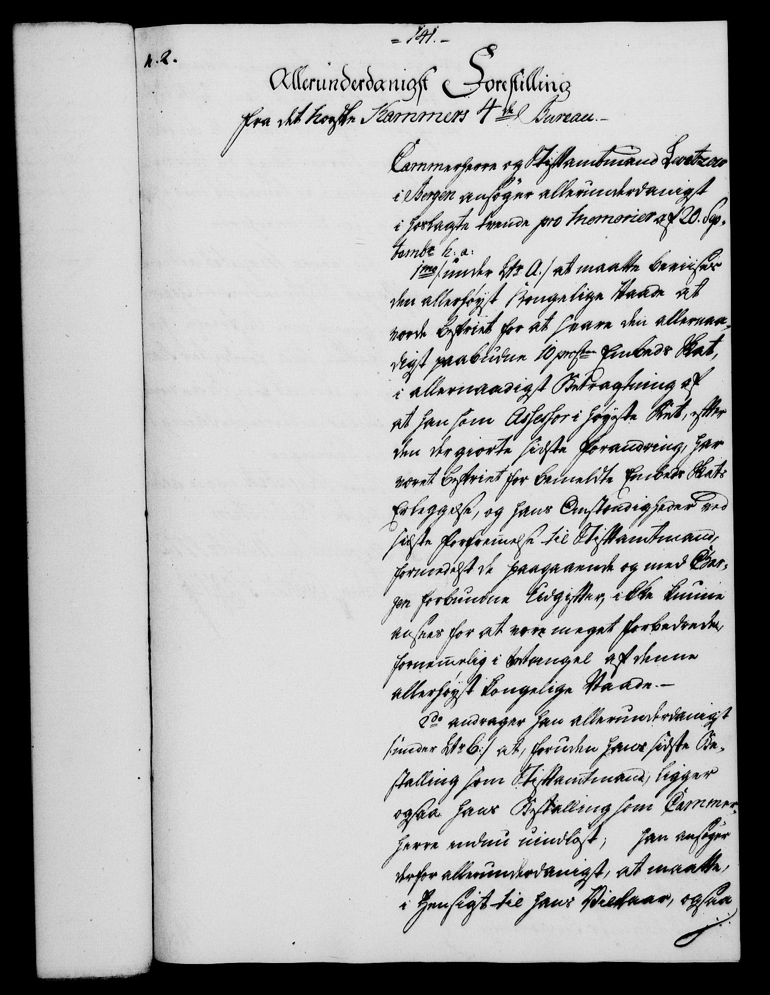 RA, Rentekammeret, Kammerkanselliet, G/Gf/Gfa/L0054: Norsk relasjons- og resolusjonsprotokoll (merket RK 52.54), 1771-1772, s. 730