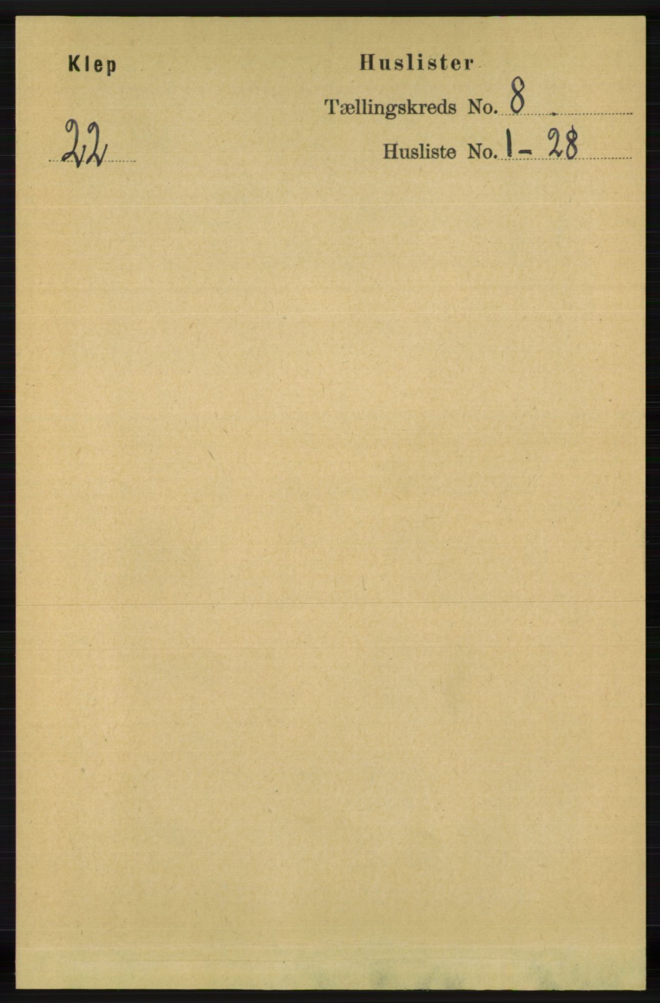 RA, Folketelling 1891 for 1120 Klepp herred, 1891, s. 2474