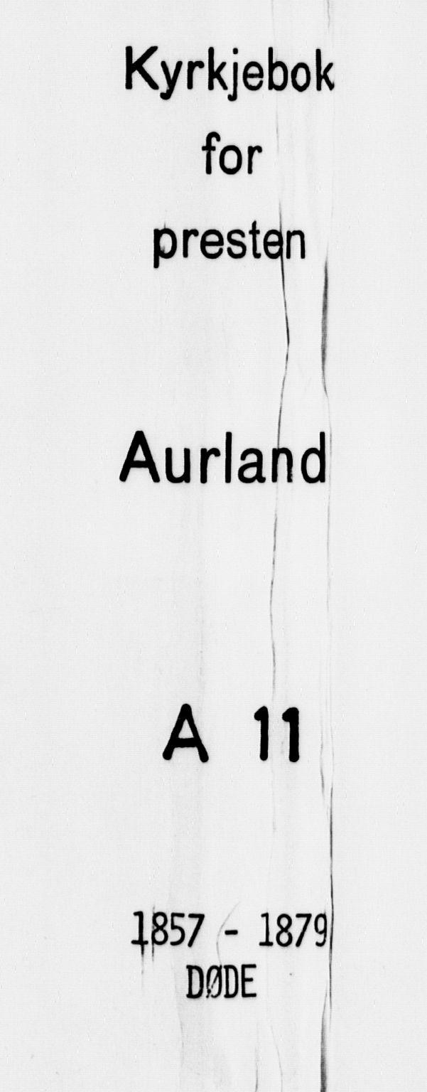 SAB, Aurland Sokneprestembete*, Ministerialbok nr. A 11, 1857-1879