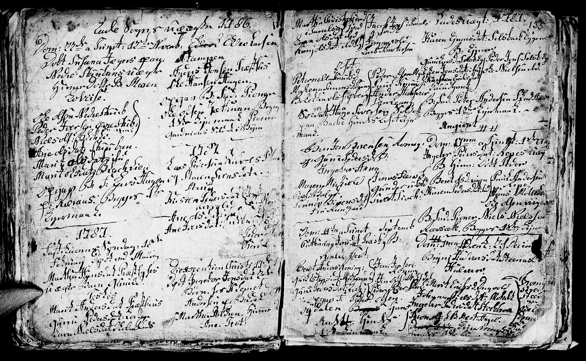 SAT, Ministerialprotokoller, klokkerbøker og fødselsregistre - Sør-Trøndelag, 606/L0305: Klokkerbok nr. 606C01, 1757-1819, s. 135