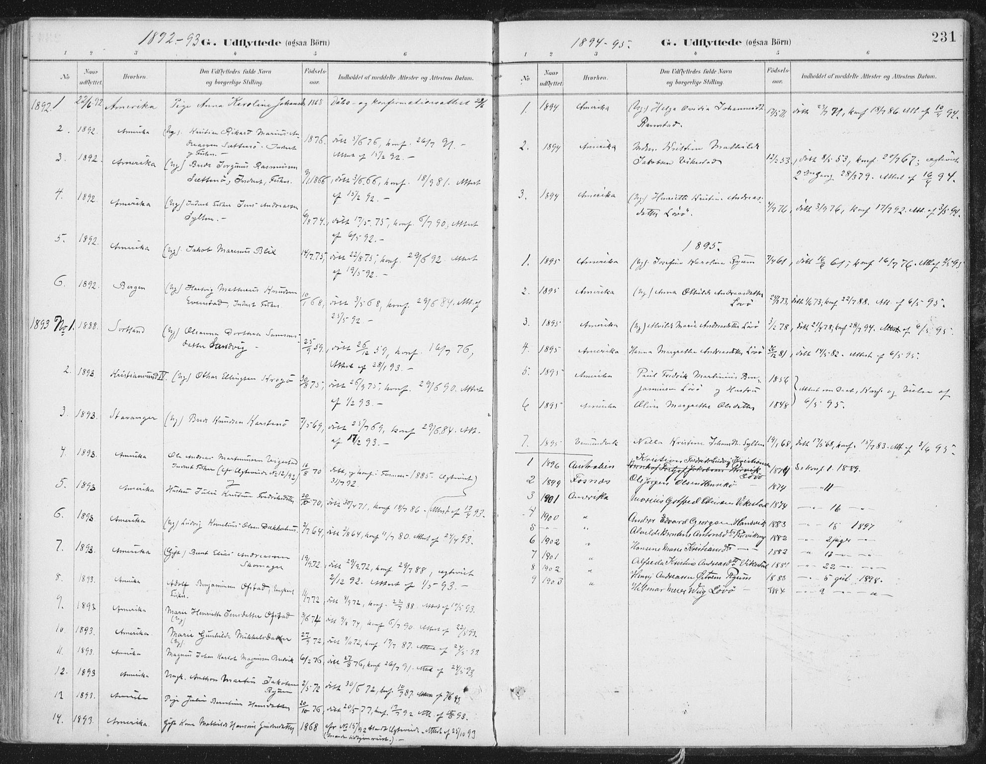 SAT, Ministerialprotokoller, klokkerbøker og fødselsregistre - Nord-Trøndelag, 786/L0687: Ministerialbok nr. 786A03, 1888-1898, s. 231