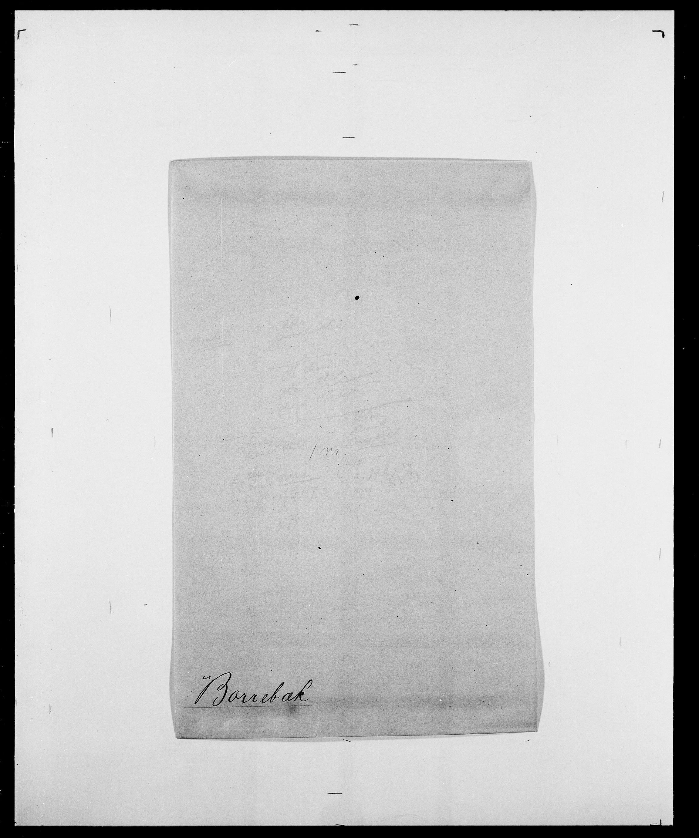 SAO, Delgobe, Charles Antoine - samling, D/Da/L0005: Boalth - Brahm, s. 303