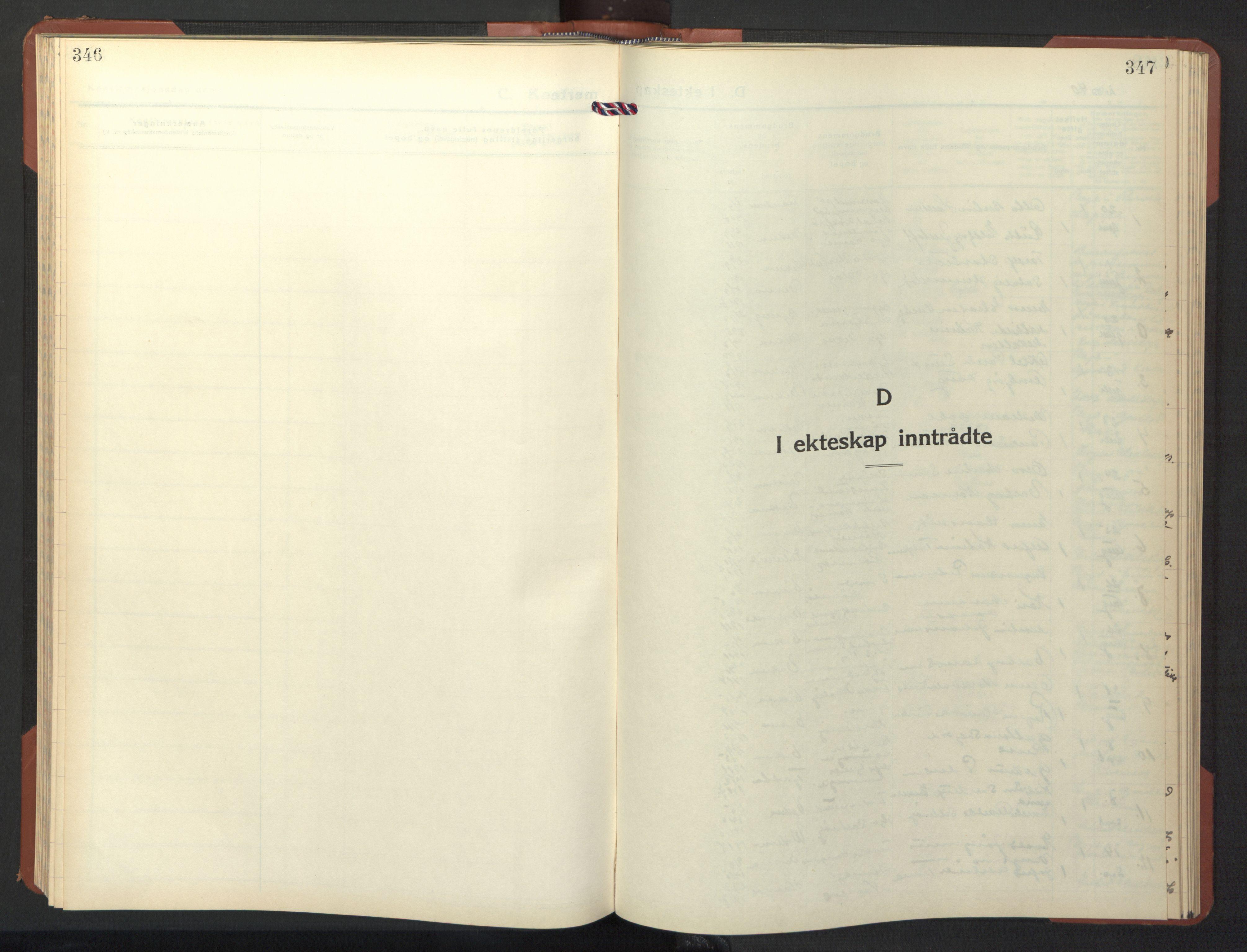 SAT, Ministerialprotokoller, klokkerbøker og fødselsregistre - Nord-Trøndelag, 786/L0689: Klokkerbok nr. 786C01, 1940-1948, s. 346-347