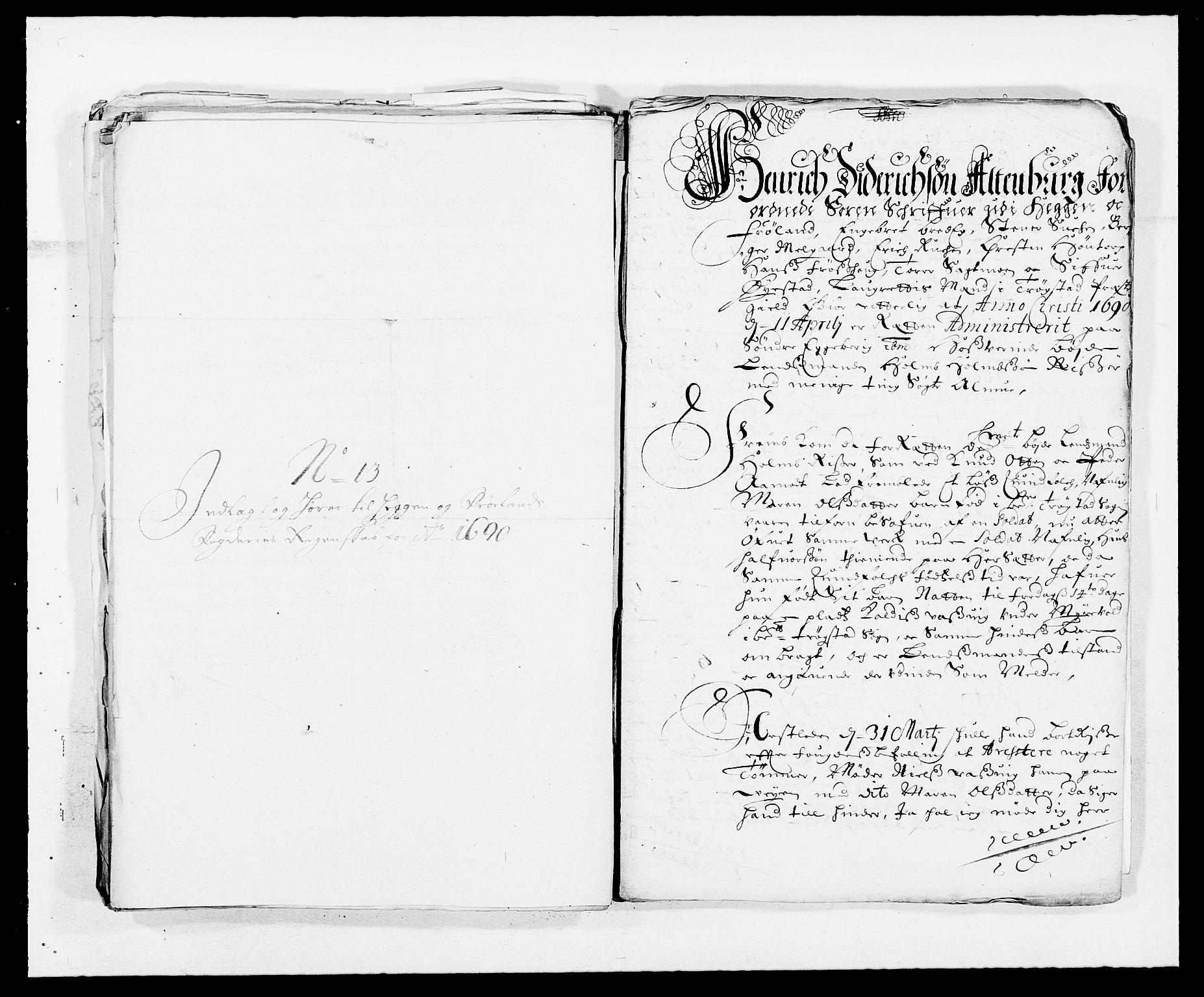 RA, Rentekammeret inntil 1814, Reviderte regnskaper, Fogderegnskap, R06/L0282: Fogderegnskap Heggen og Frøland, 1687-1690, s. 285