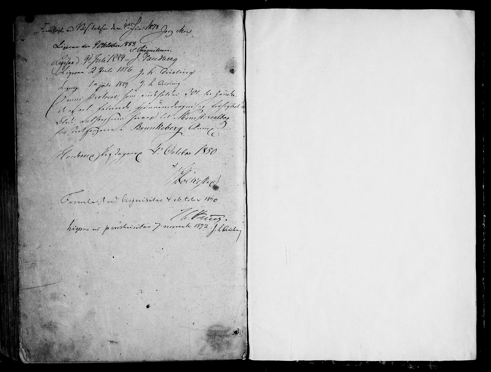SAKO, Kviteseid kirkebøker, G/Gb/L0002: Klokkerbok nr. II 2, 1850-1892