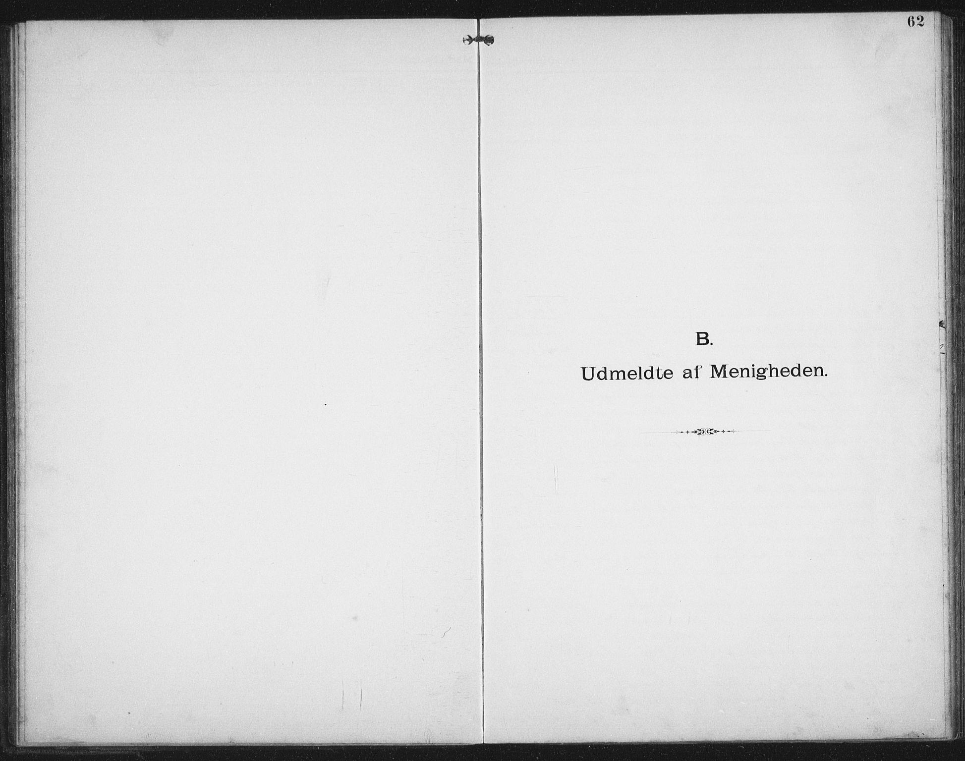 SAT, Ministerialprotokoller, klokkerbøker og fødselsregistre - Nordland, 881/L1174: Dissenterprotokoll nr. 881D01, 1891-1933, s. 62