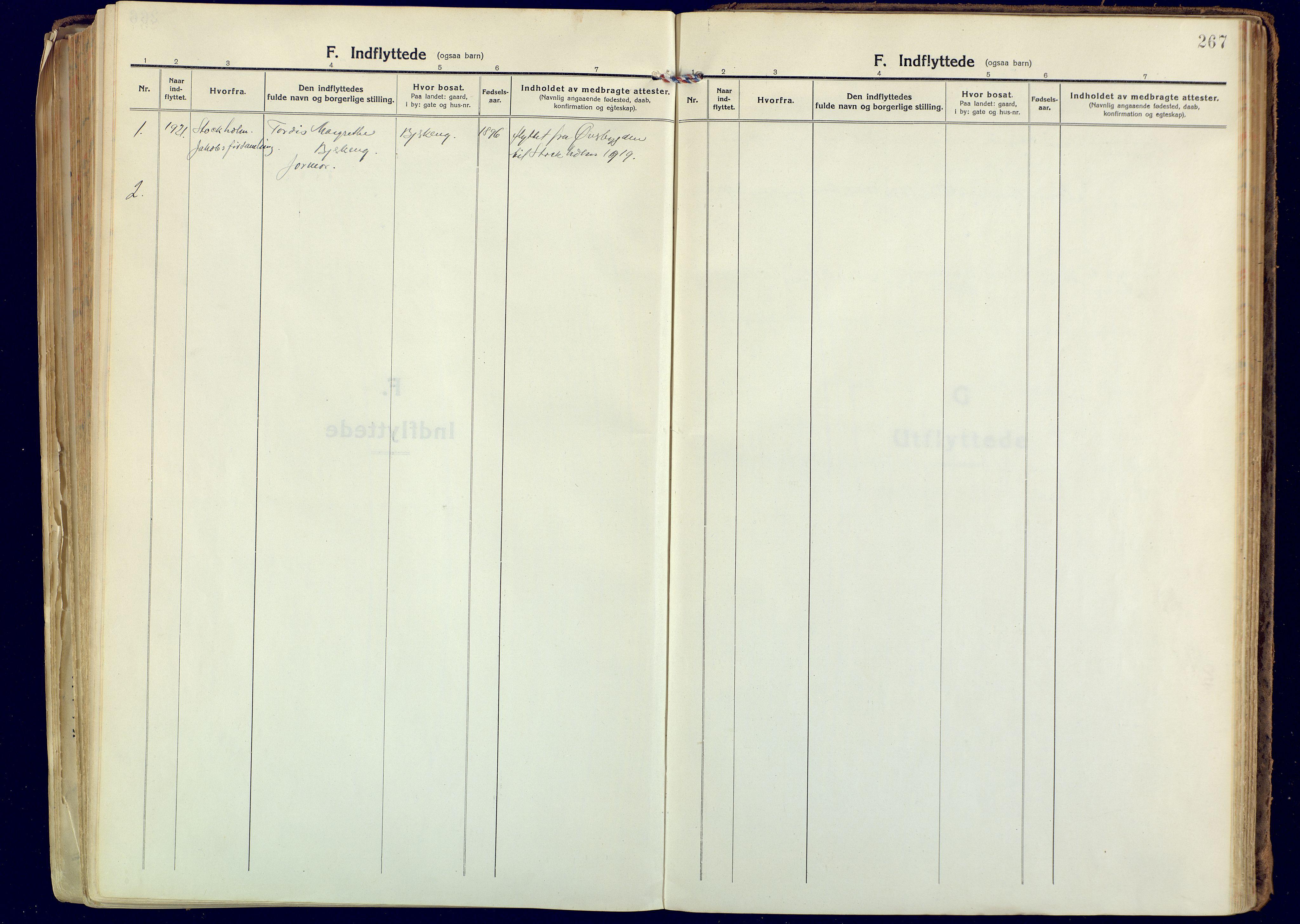 SATØ, Målselv sokneprestembete, Ministerialbok nr. 14, 1919-1932, s. 267