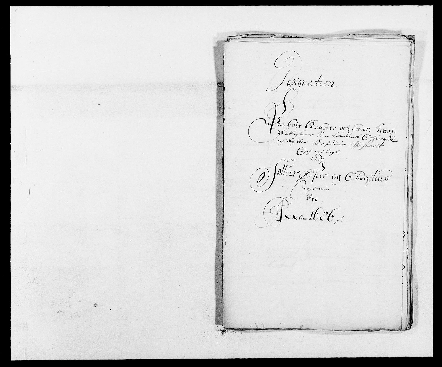RA, Rentekammeret inntil 1814, Reviderte regnskaper, Fogderegnskap, R13/L0823: Fogderegnskap Solør, Odal og Østerdal, 1686, s. 269