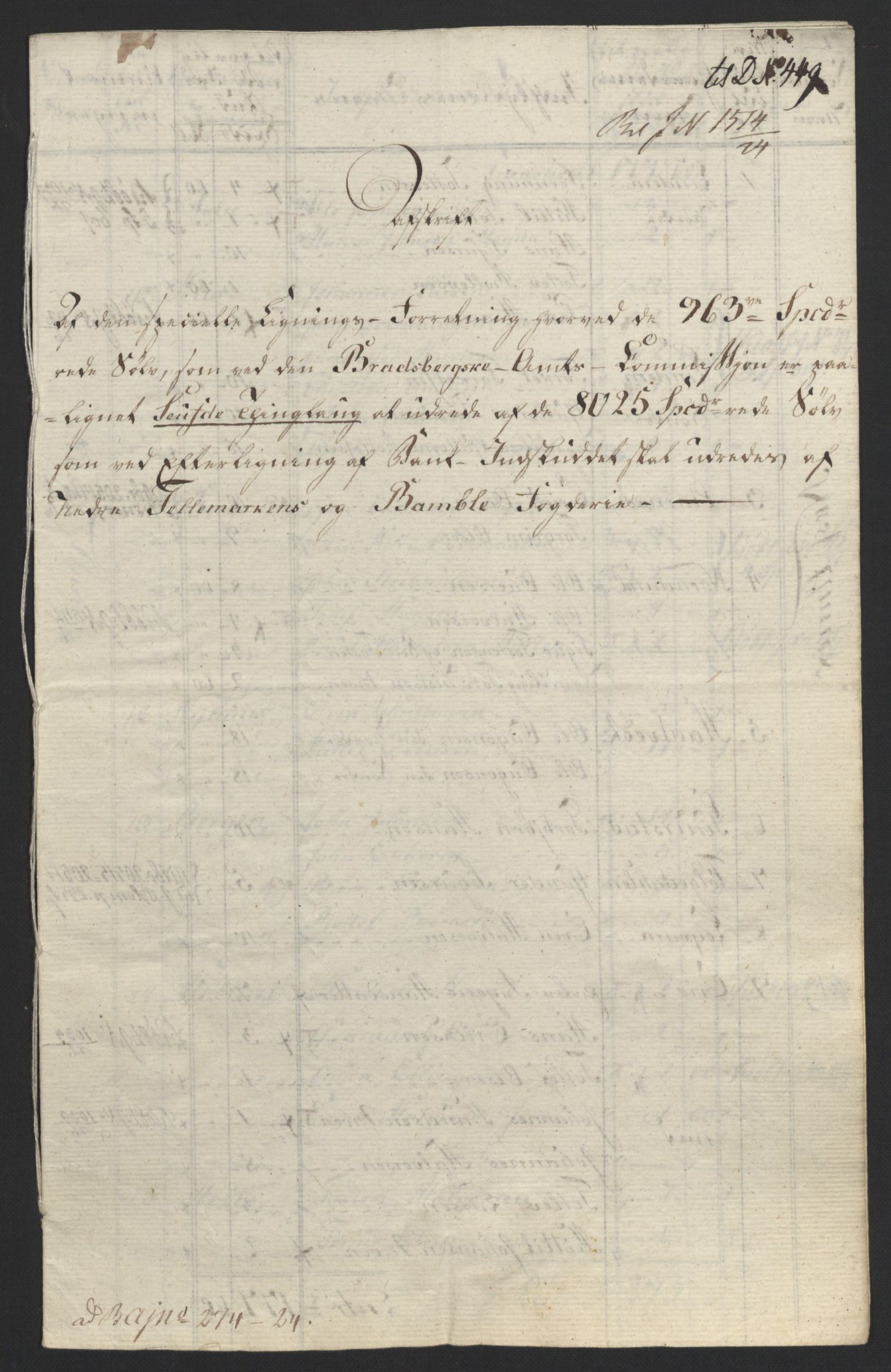 NOBA, Norges Bank/Sølvskatten 1816*, 1816-1824, s. 87