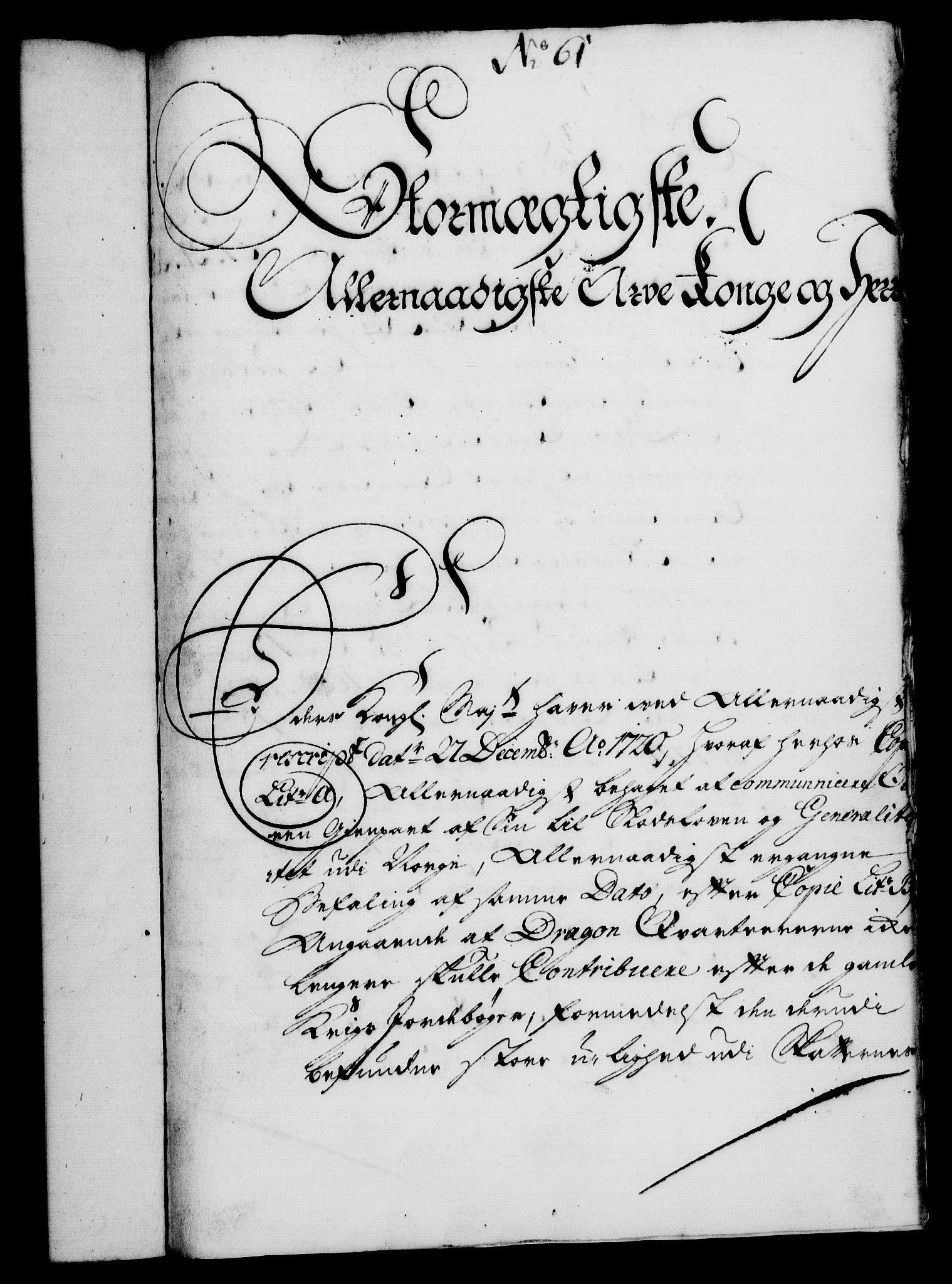 RA, Rentekammeret, Kammerkanselliet, G/Gf/Gfa/L0010: Norsk relasjons- og resolusjonsprotokoll (merket RK 52.10), 1727, s. 435