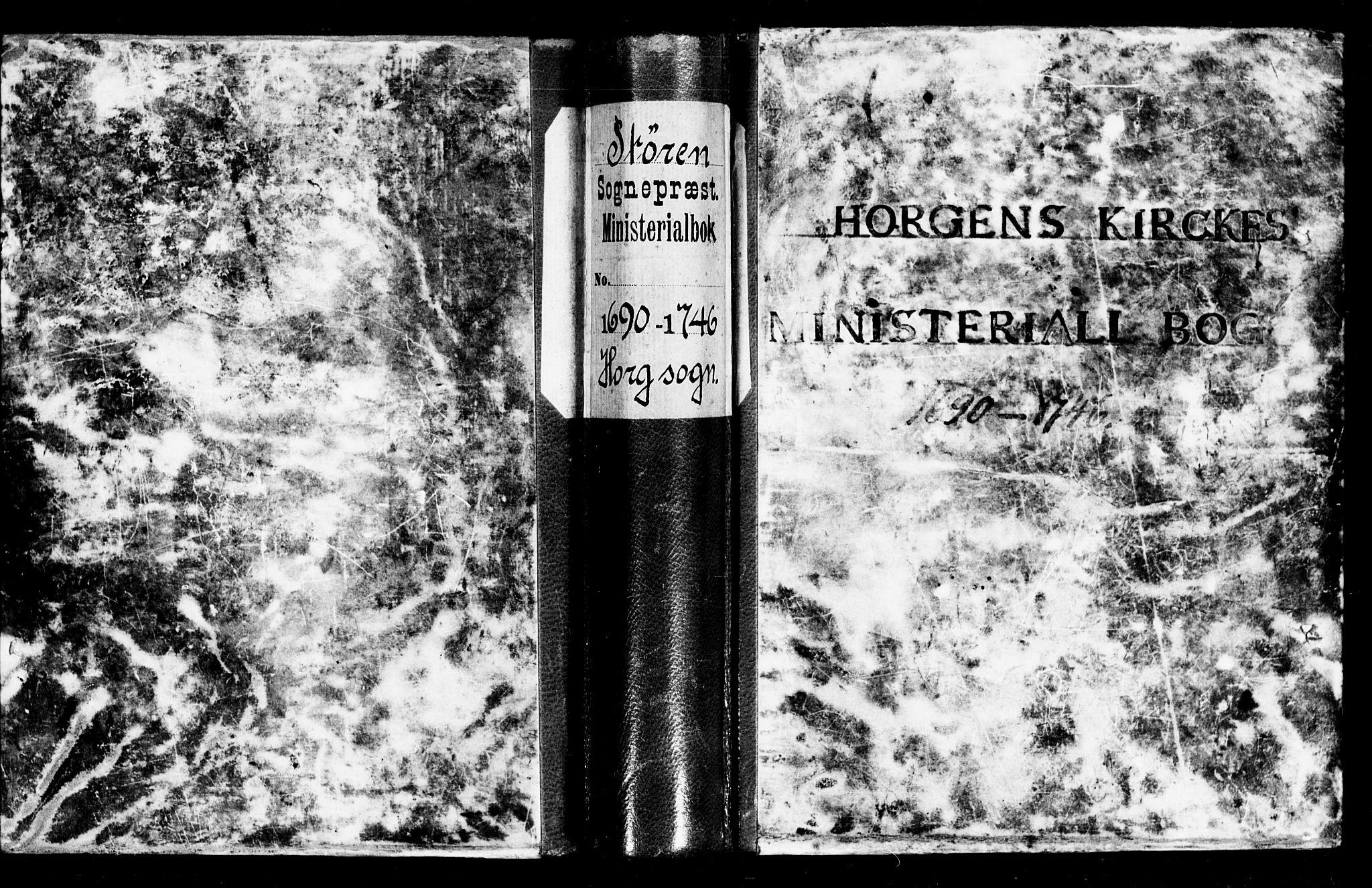 SAT, Ministerialprotokoller, klokkerbøker og fødselsregistre - Sør-Trøndelag, 692/L1101: Ministerialbok nr. 692A01, 1690-1746