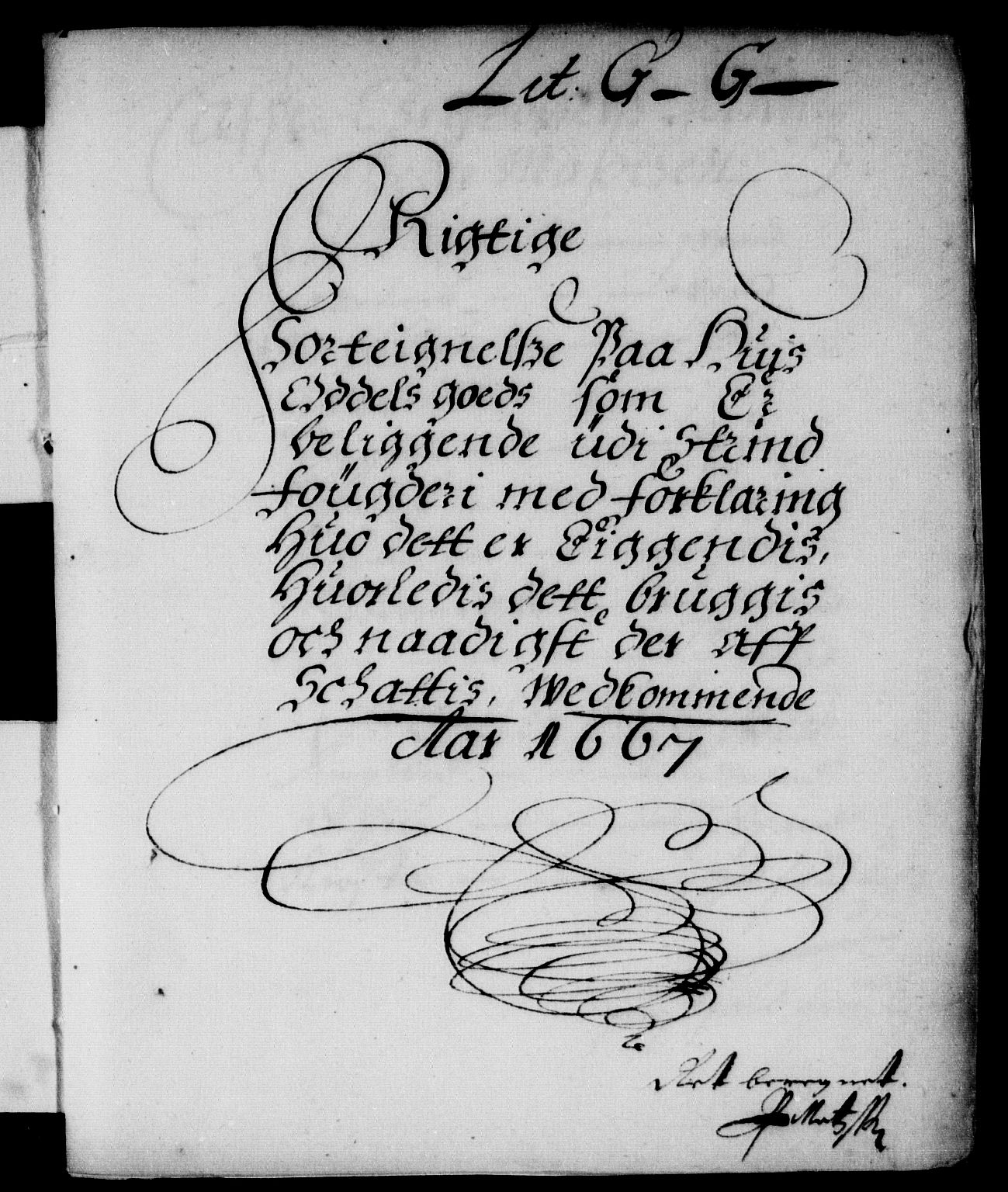 RA, Rentekammeret inntil 1814, Reviderte regnskaper, Stiftamtstueregnskaper, Trondheim stiftamt og Nordland amt, R/Rd/L0021: Trondheim stiftamt, 1667