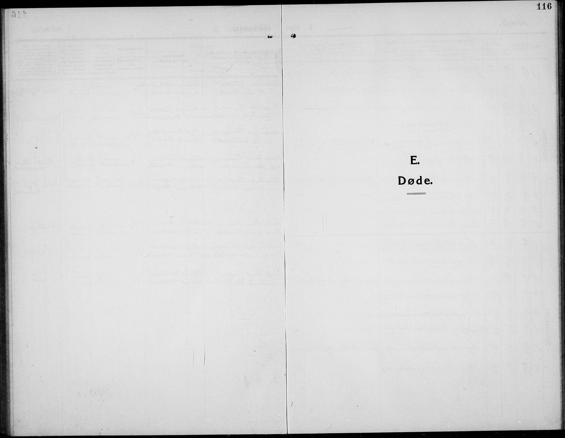 SAH, Øystre Slidre prestekontor, Klokkerbok nr. 8, 1911-1938, s. 116