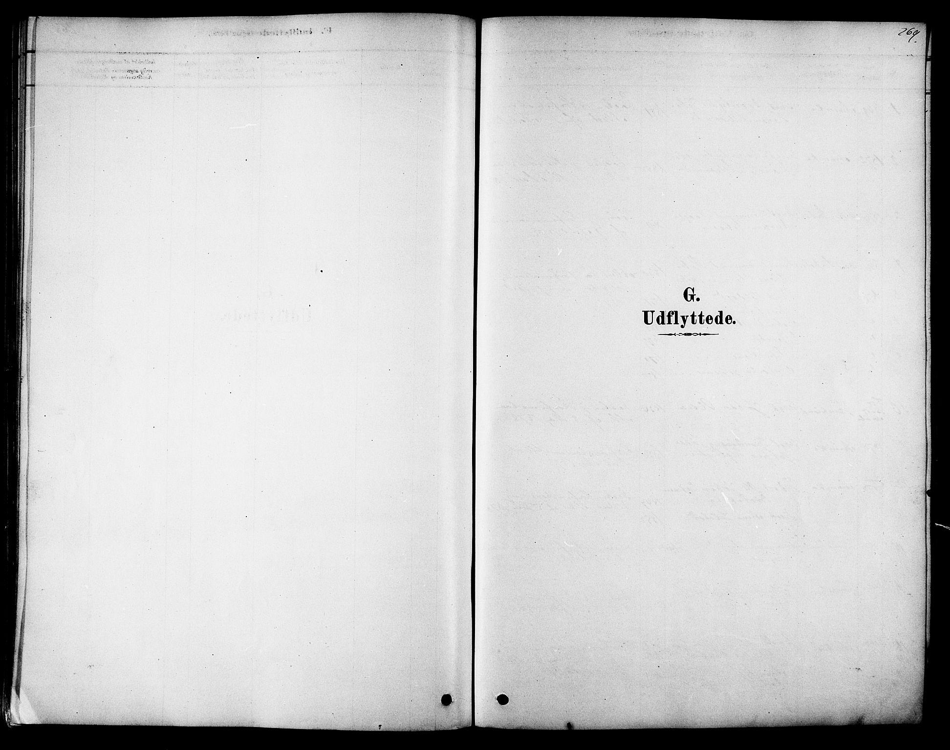 SAT, Ministerialprotokoller, klokkerbøker og fødselsregistre - Sør-Trøndelag, 616/L0410: Ministerialbok nr. 616A07, 1878-1893, s. 269