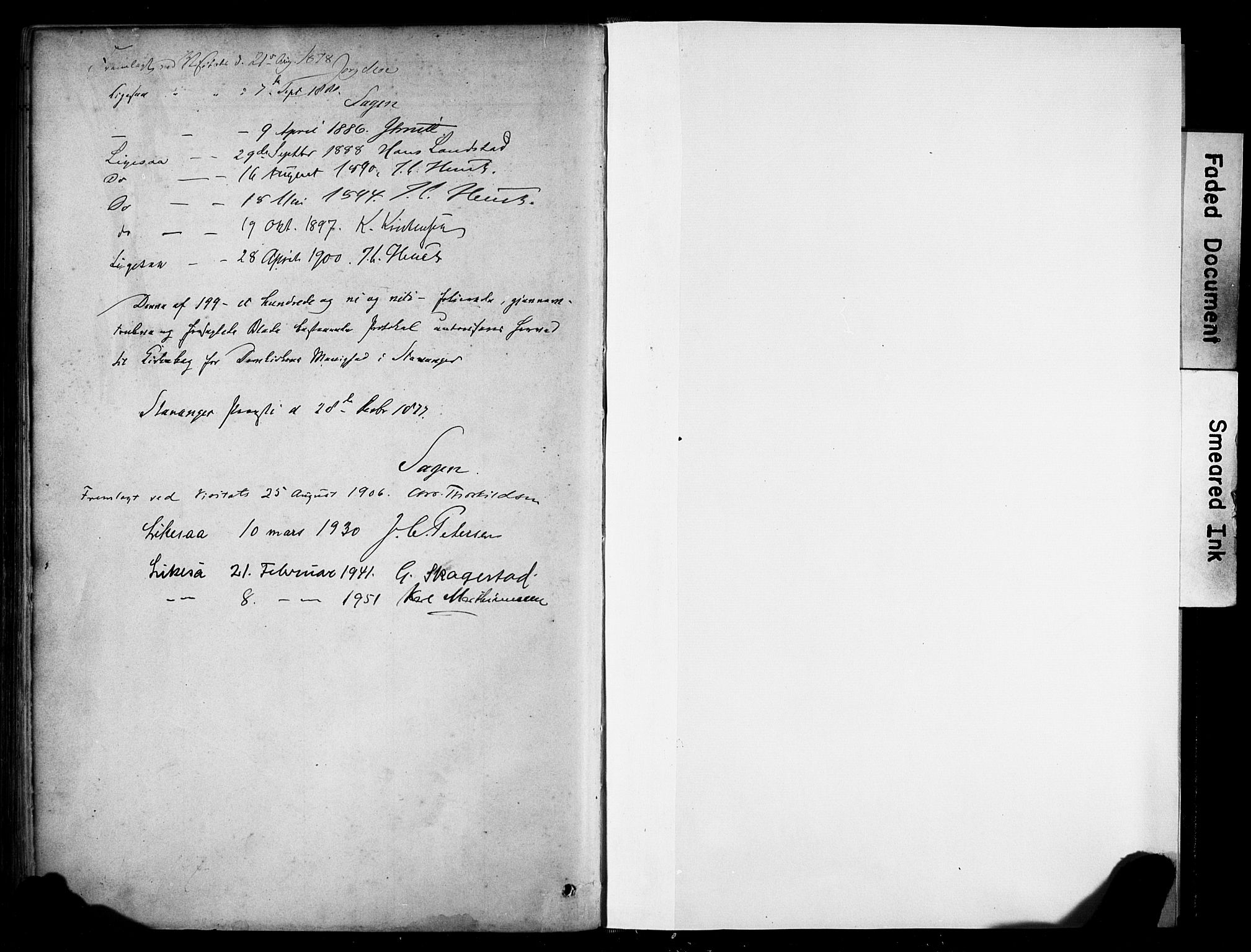 SAST, Domkirken sokneprestkontor, 30/30BA/L0025: Ministerialbok nr. A 24, 1877-1927
