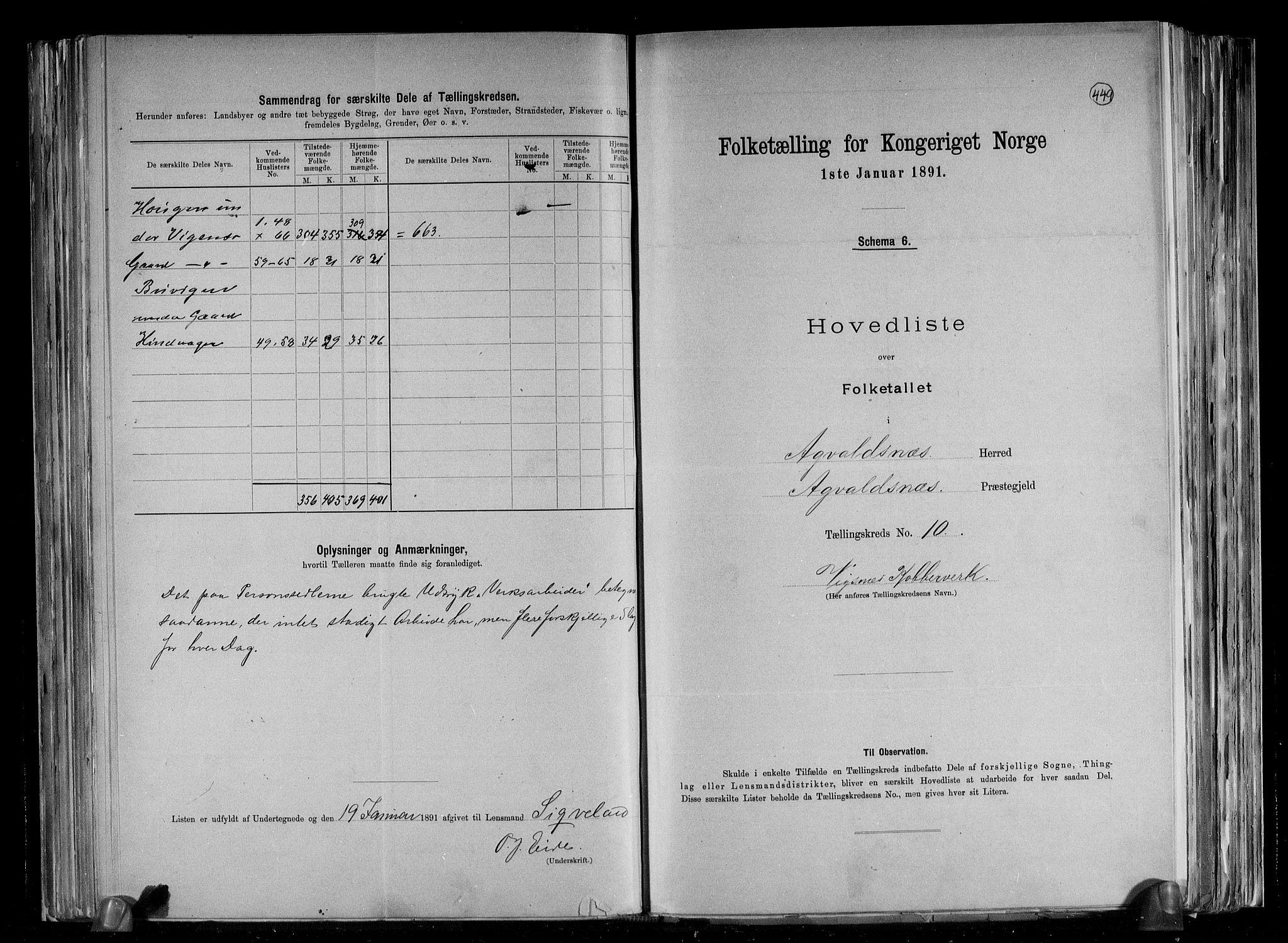 RA, Folketelling 1891 for 1147 Avaldsnes herred, 1891, s. 42