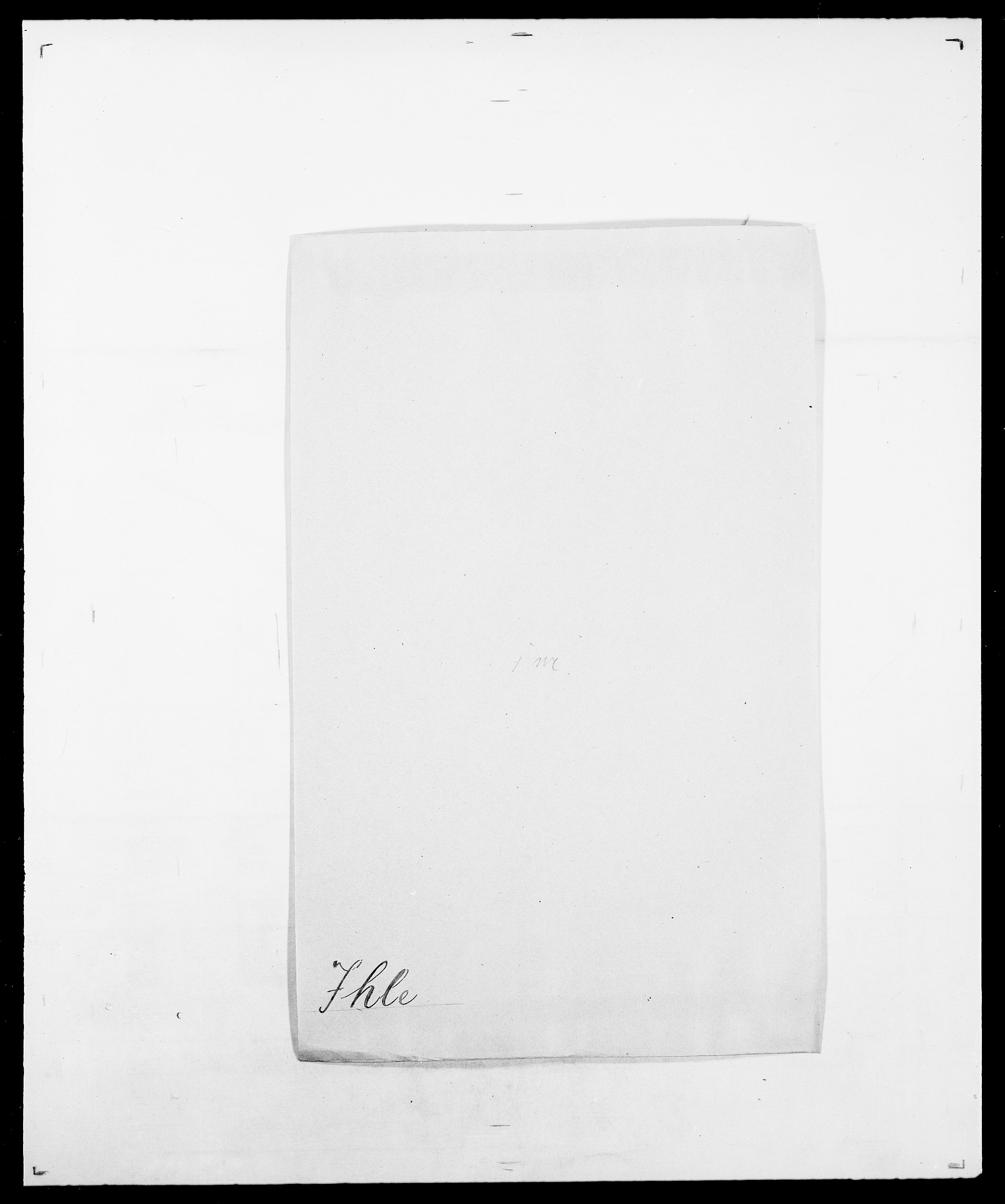 SAO, Delgobe, Charles Antoine - samling, D/Da/L0019: van der Hude - Joys, s. 759