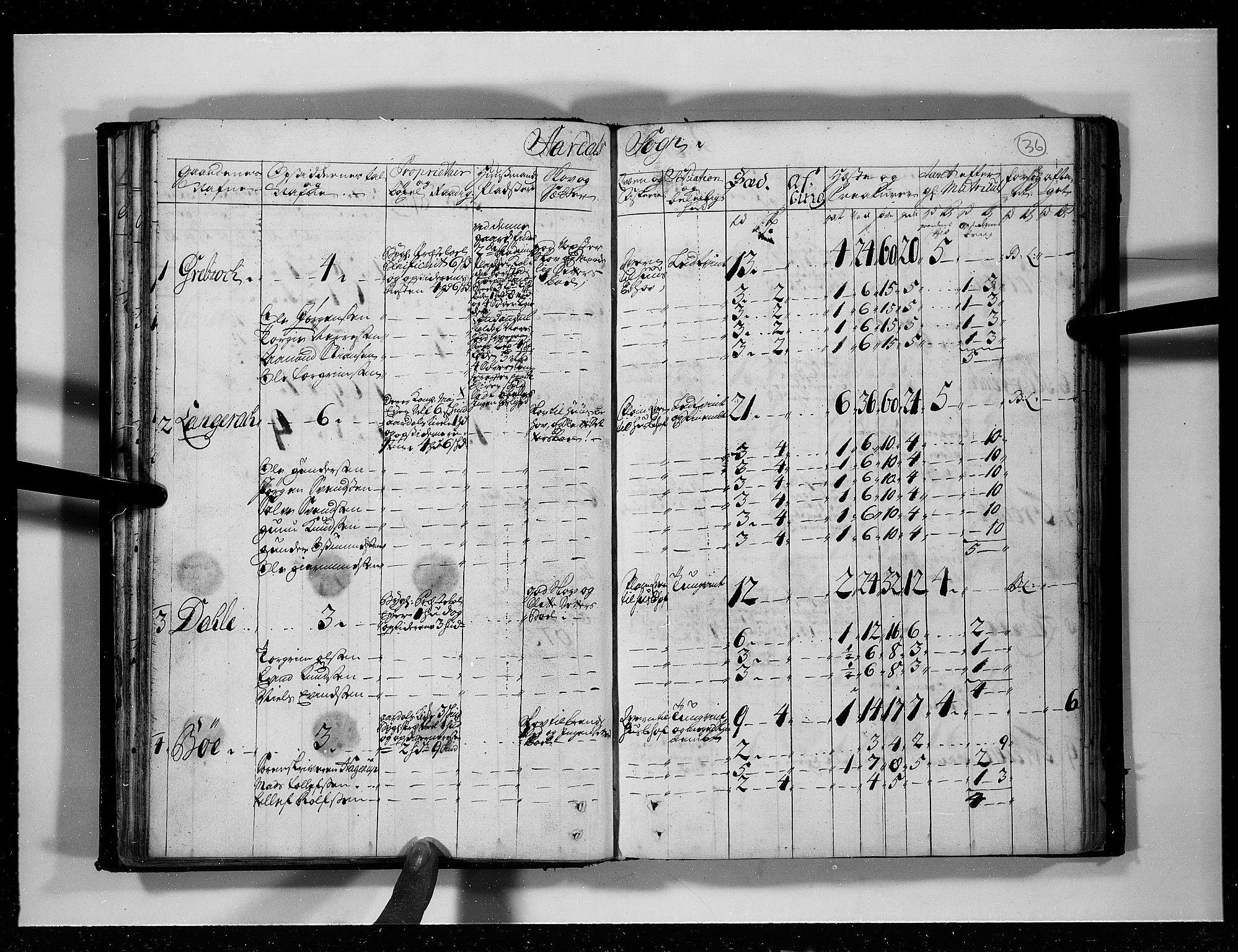 RA, Rentekammeret inntil 1814, Realistisk ordnet avdeling, N/Nb/Nbf/L0125: Råbyggelag eksaminasjonsprotokoll, 1723, s. 35b-36a