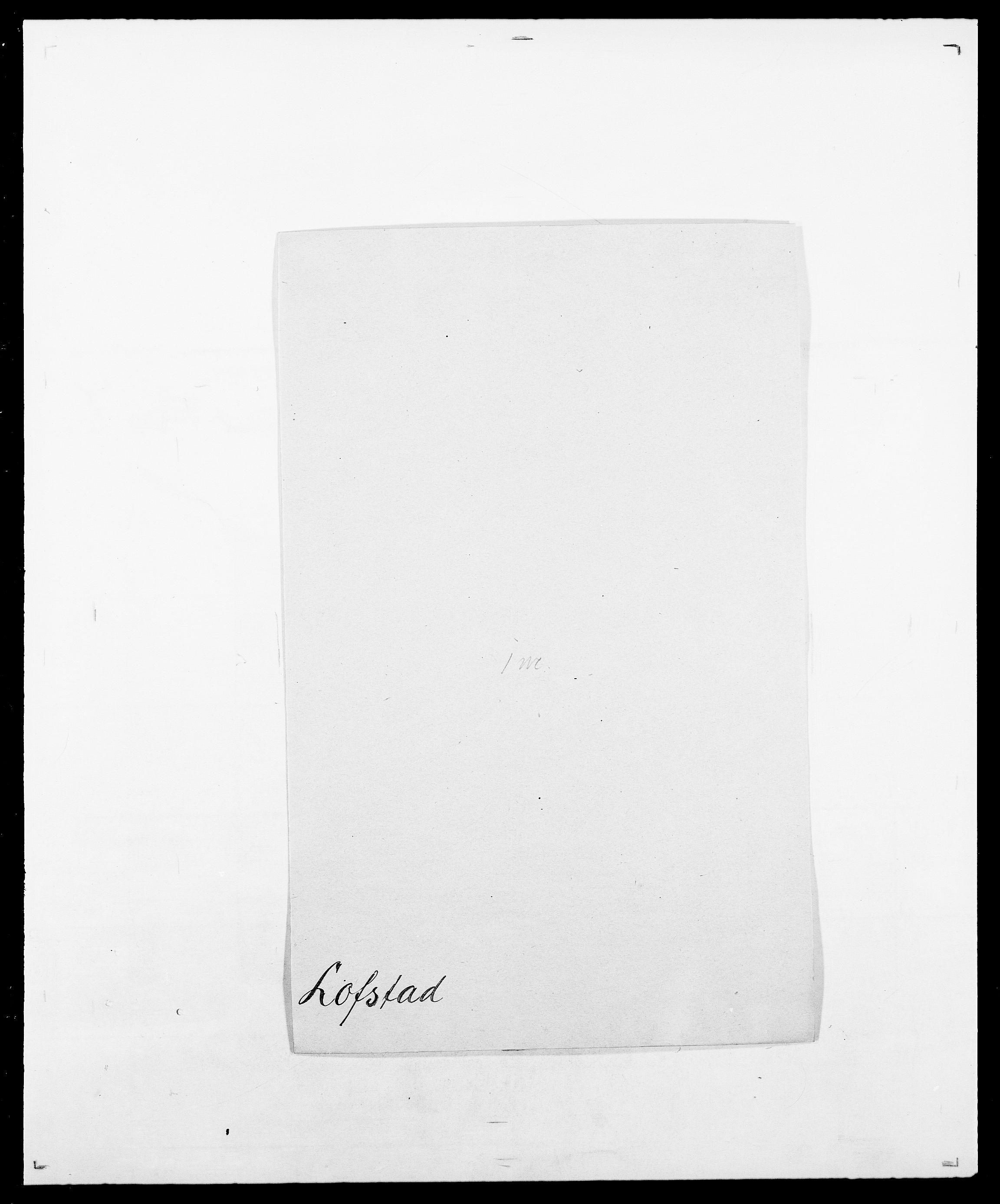 SAO, Delgobe, Charles Antoine - samling, D/Da/L0024: Lobech - Lærum, s. 43