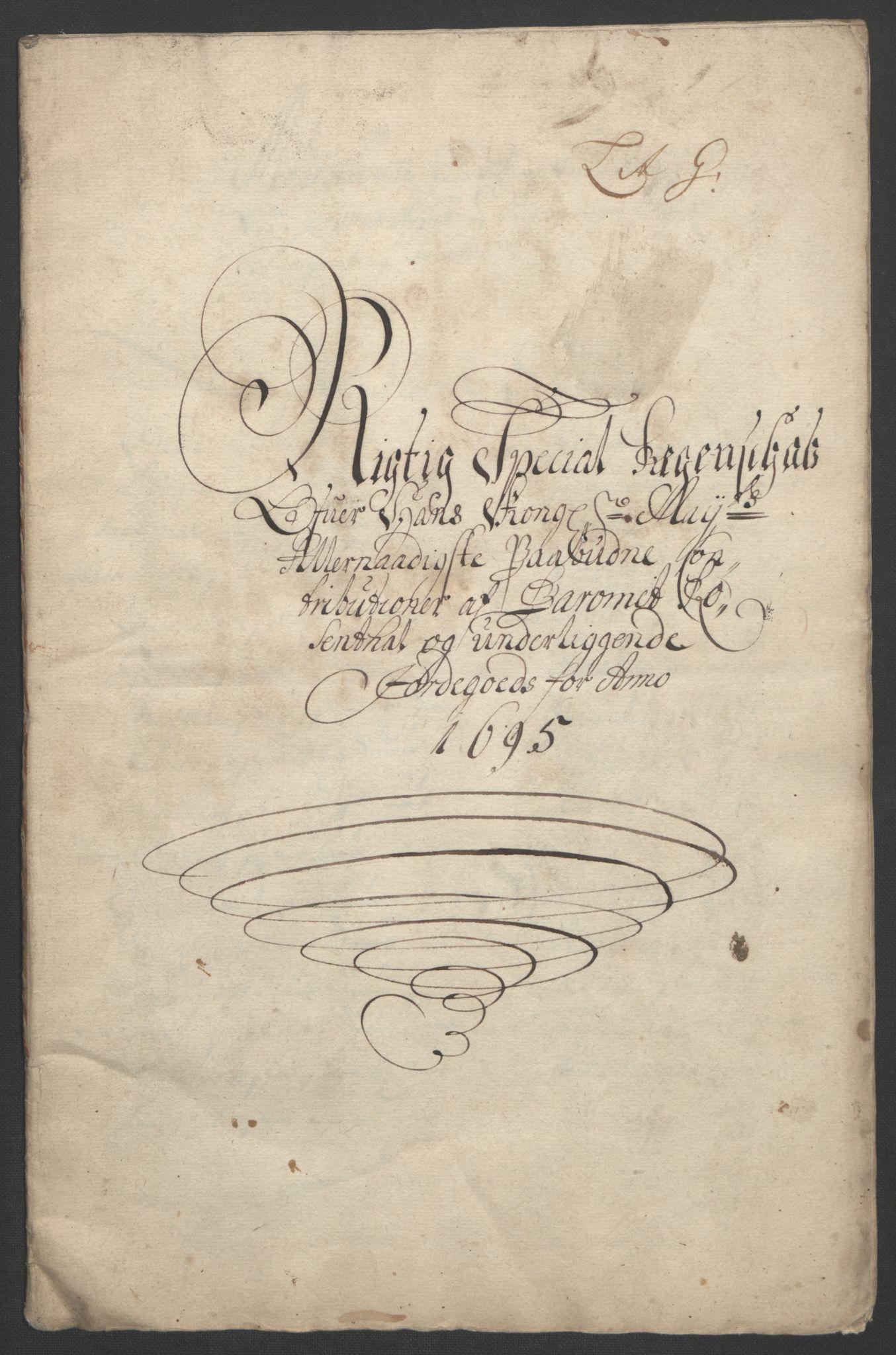 RA, Rentekammeret inntil 1814, Reviderte regnskaper, Fogderegnskap, R49/L3138: Fogderegnskap Rosendal Baroni, 1691-1714, s. 33