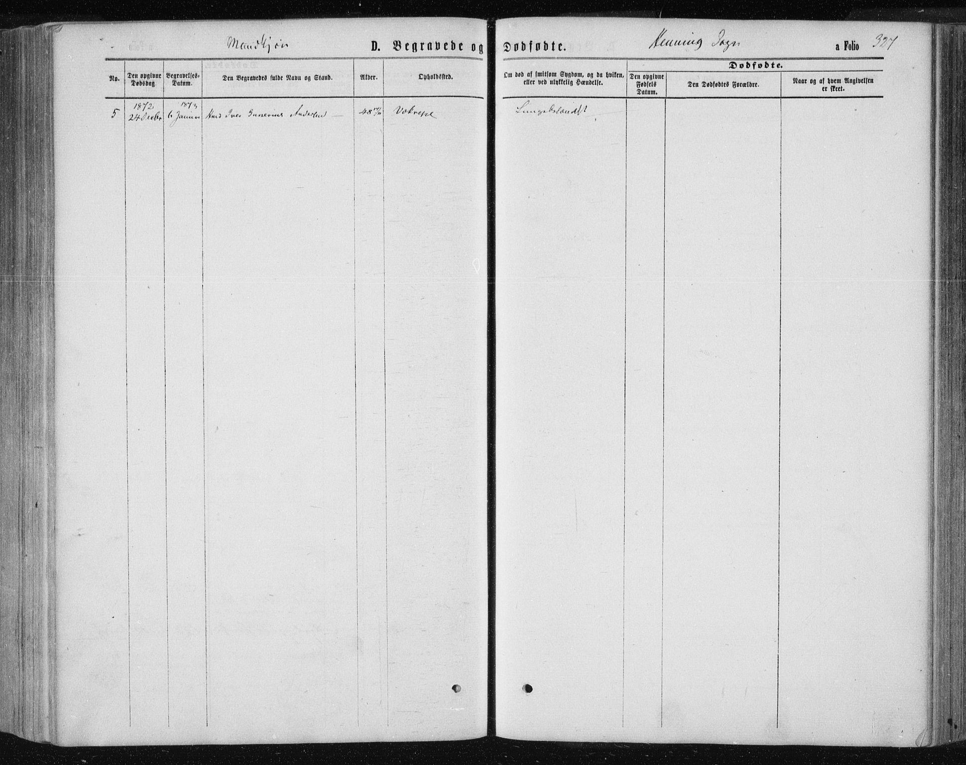 SAT, Ministerialprotokoller, klokkerbøker og fødselsregistre - Nord-Trøndelag, 735/L0345: Ministerialbok nr. 735A08 /3, 1863-1872, s. 327