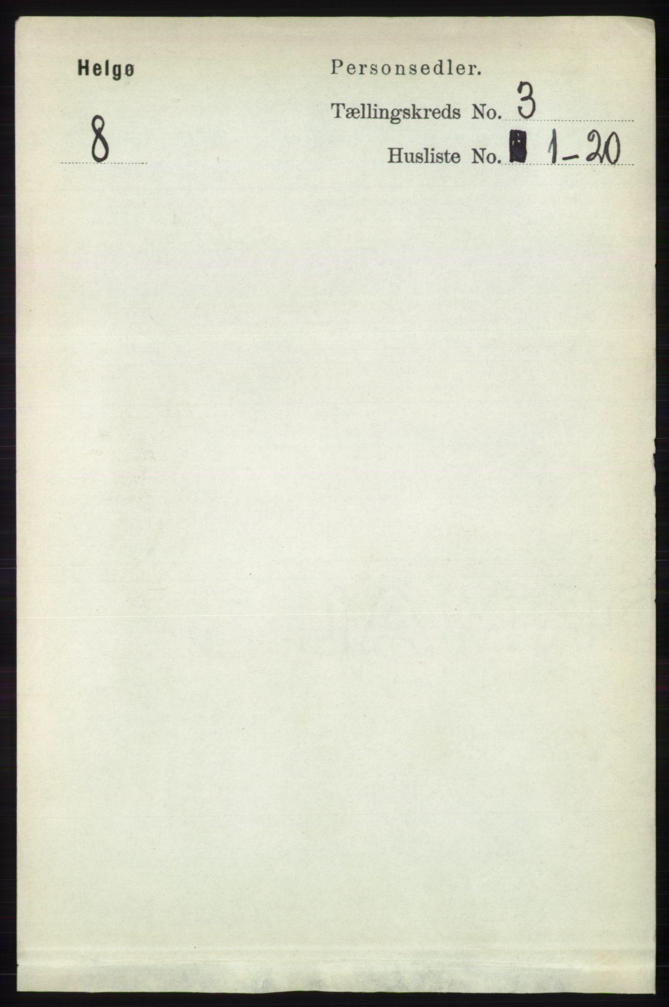 RA, Folketelling 1891 for 1935 Helgøy herred, 1891, s. 738