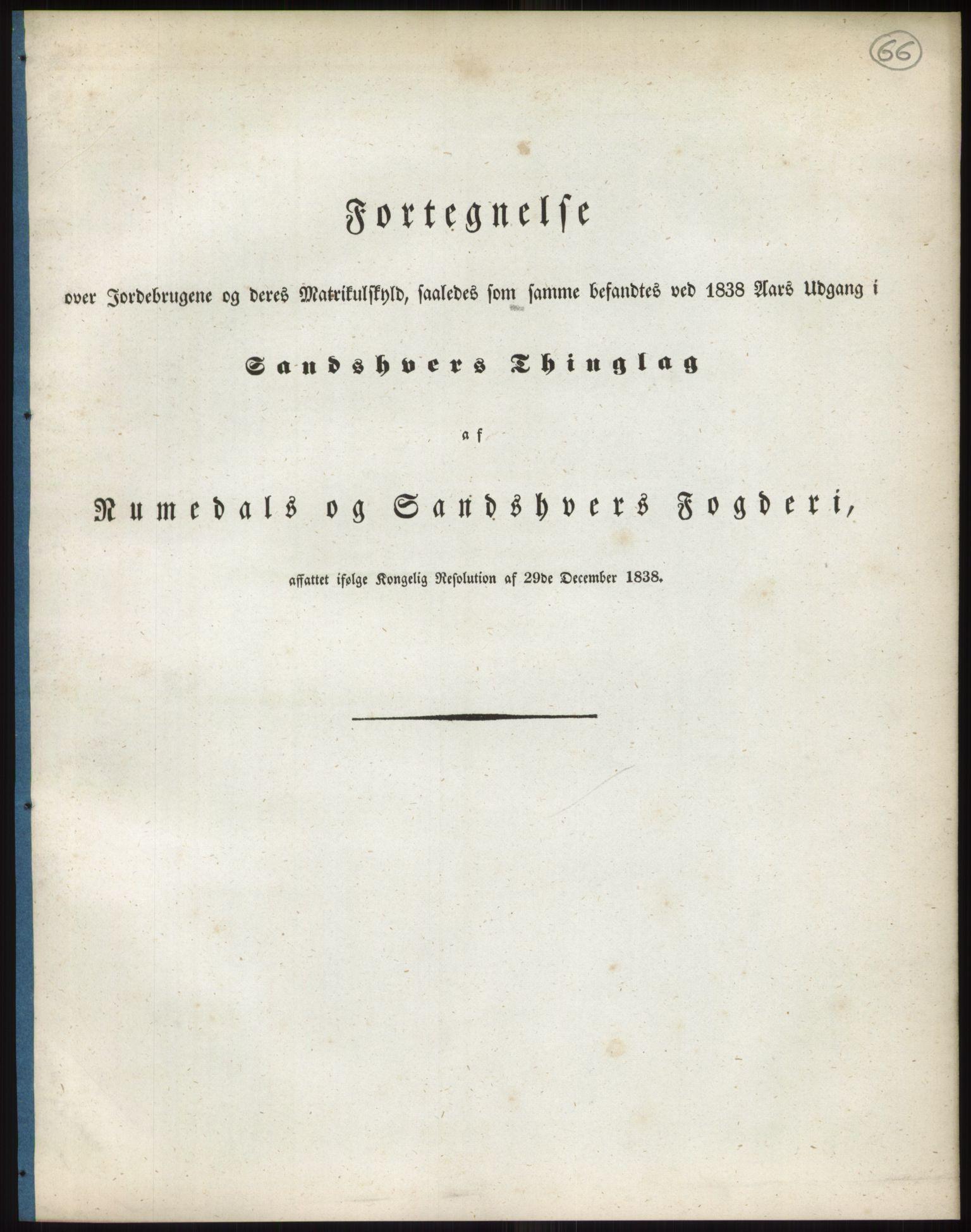 RA, 1838-matrikkelen (publikasjon)*, 1838, s. 66