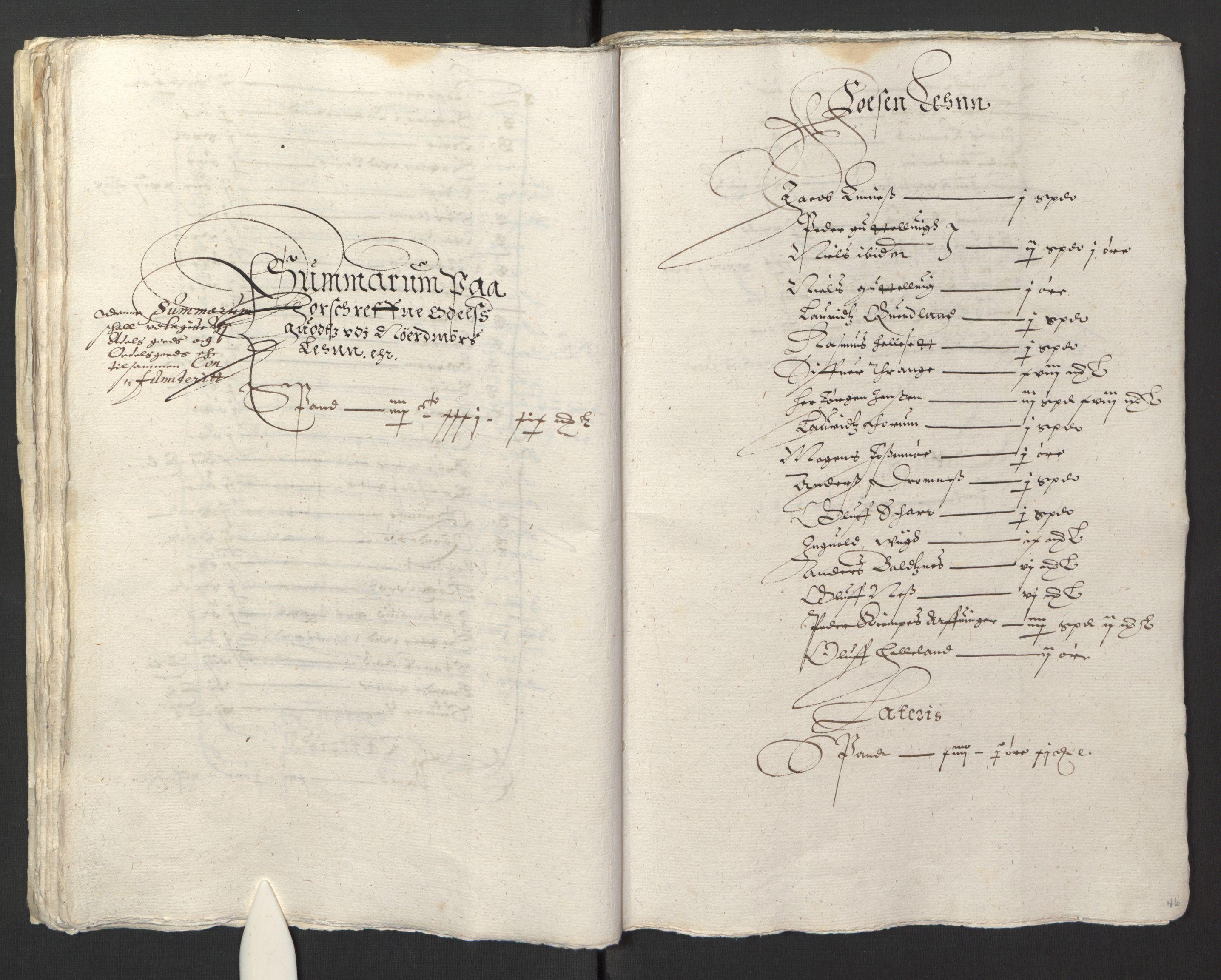RA, Stattholderembetet 1572-1771, Ek/L0013: Jordebøker til utlikning av rosstjeneste 1624-1626:, 1624-1625, s. 49