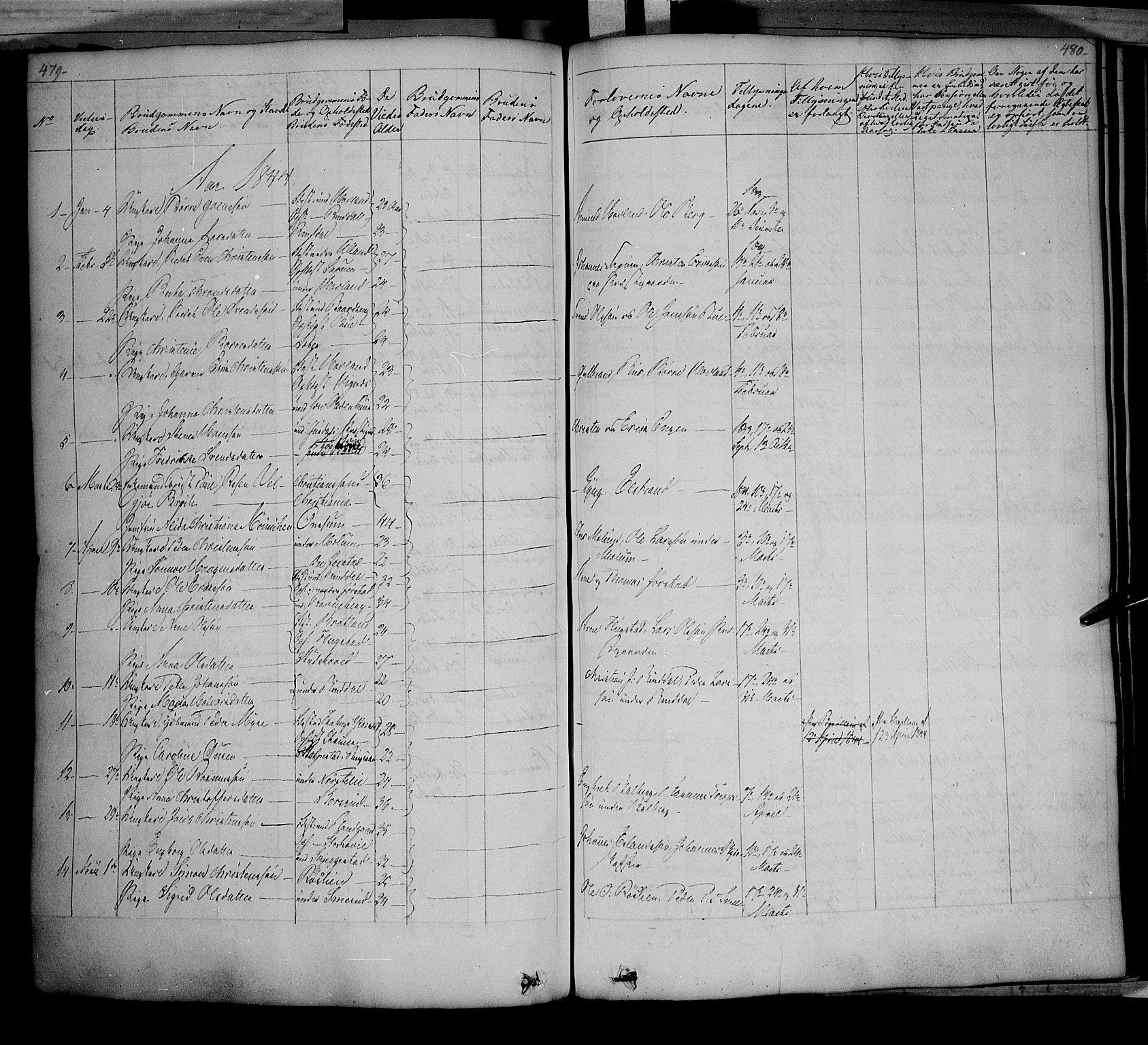SAH, Fåberg prestekontor, Ministerialbok nr. 5, 1836-1854, s. 479-480