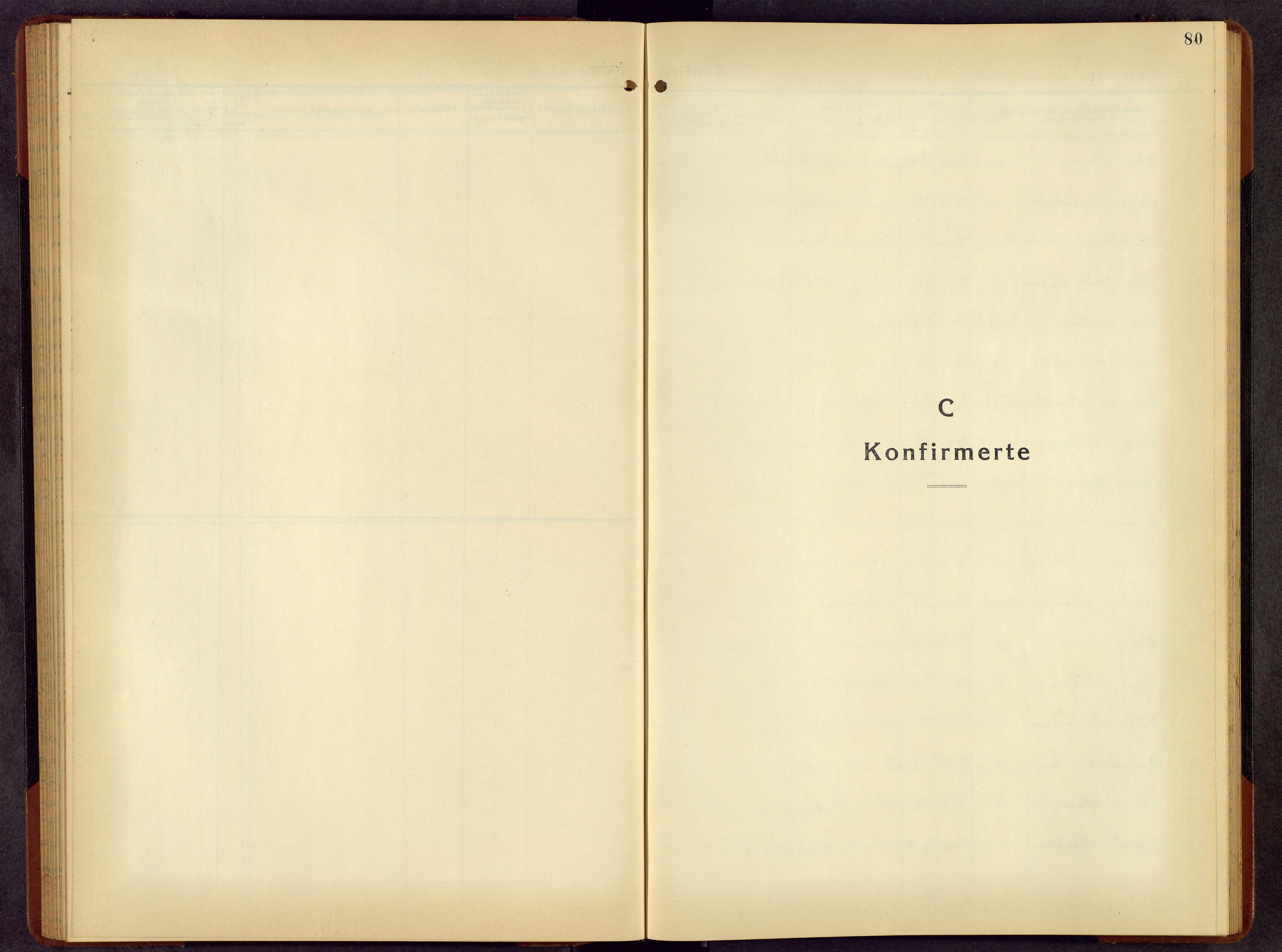 SAH, Rendalen prestekontor, H/Ha/Hab/L0006: Klokkerbok nr. 6, 1941-1958, s. 80