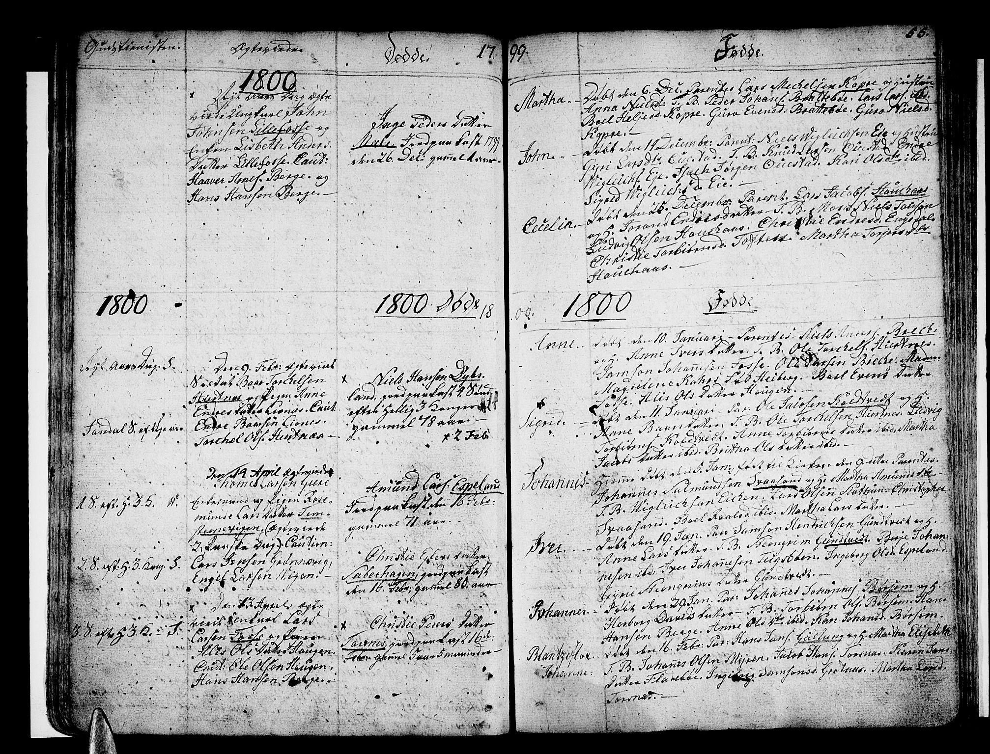 SAB, Strandebarm sokneprestembete, H/Haa: Ministerialbok nr. A 4, 1788-1817, s. 55