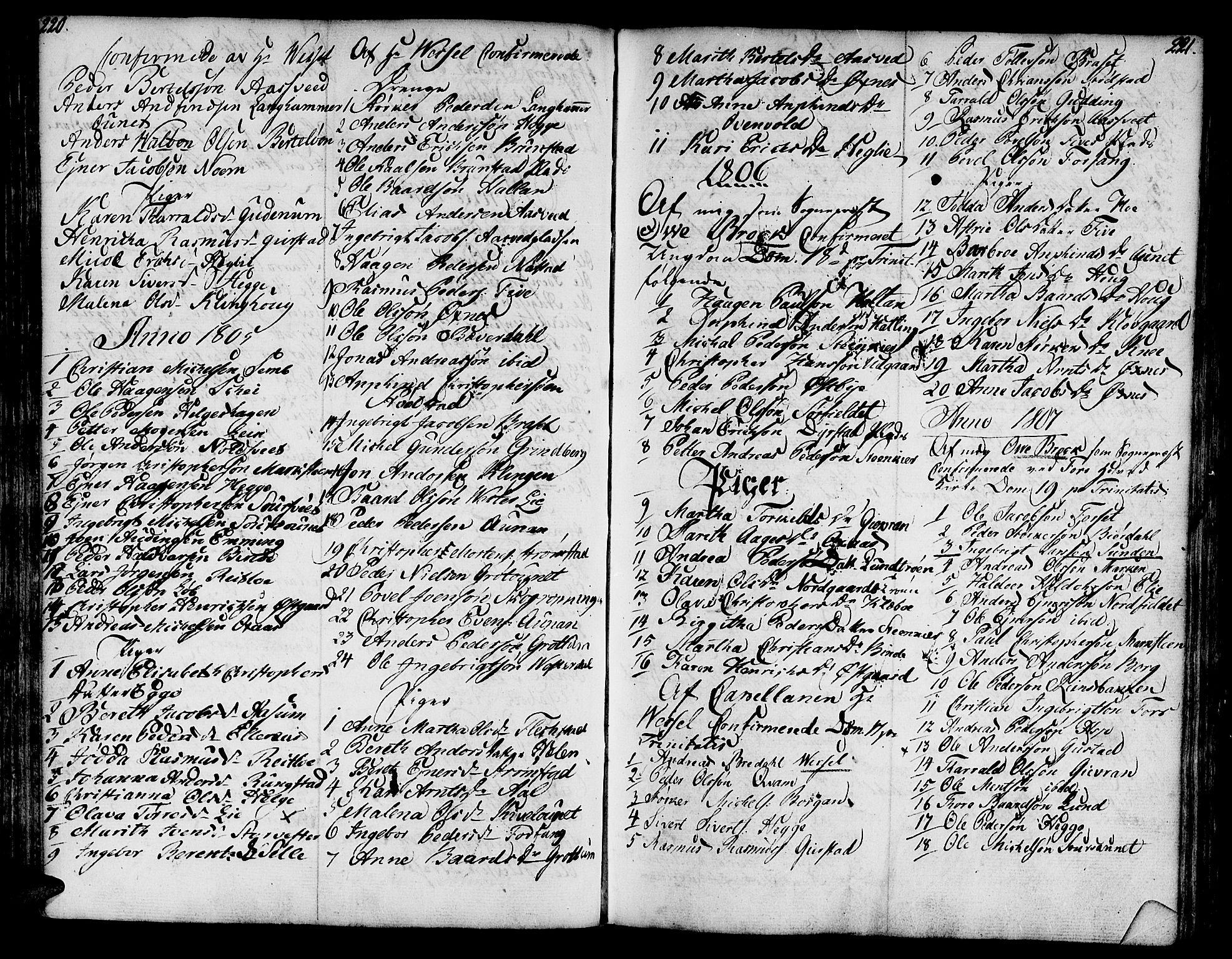 SAT, Ministerialprotokoller, klokkerbøker og fødselsregistre - Nord-Trøndelag, 746/L0440: Ministerialbok nr. 746A02, 1760-1815, s. 220-221