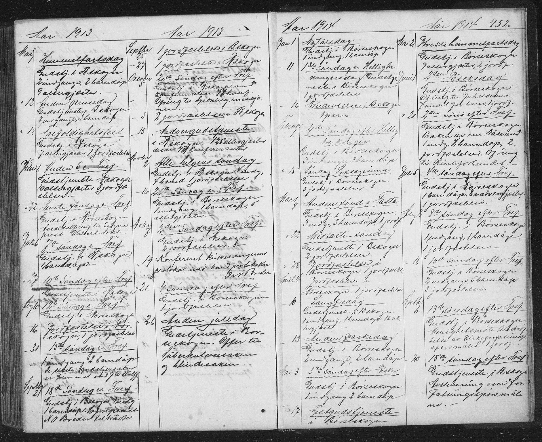 SAT, Ministerialprotokoller, klokkerbøker og fødselsregistre - Sør-Trøndelag, 667/L0798: Klokkerbok nr. 667C03, 1867-1929, s. 452
