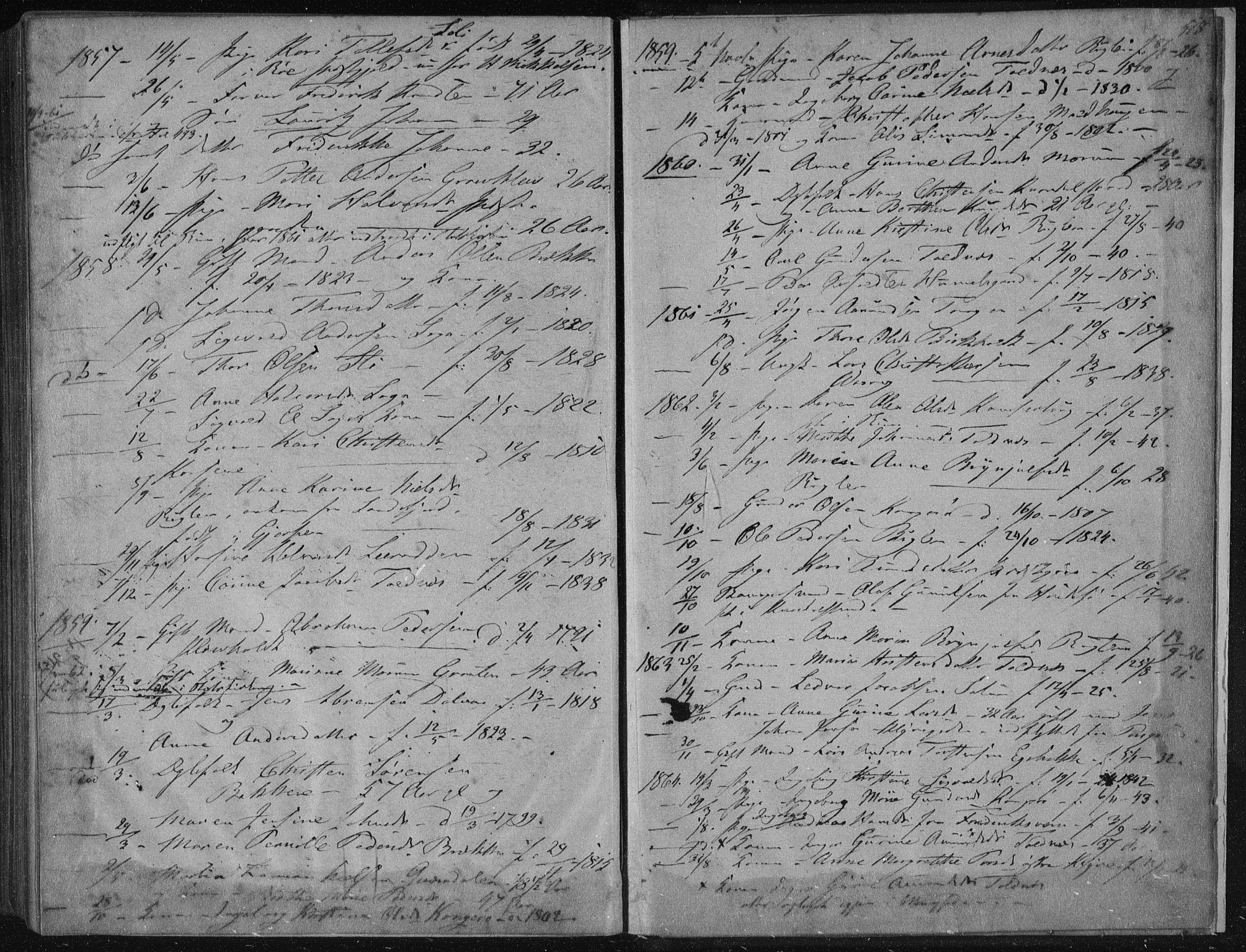 SAKO, Solum kirkebøker, F/Fa/L0007: Ministerialbok nr. I 7, 1856-1864, s. 518