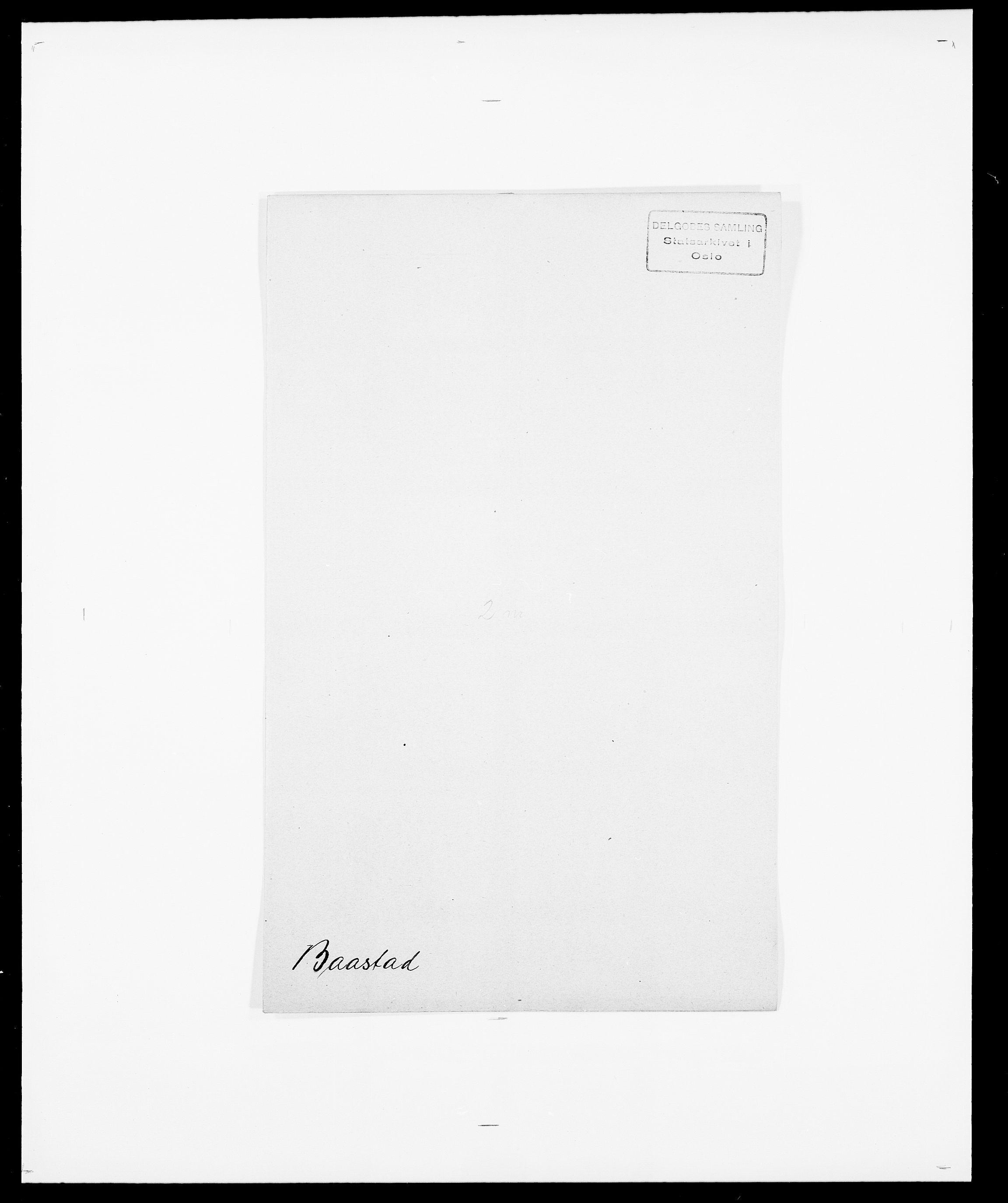SAO, Delgobe, Charles Antoine - samling, D/Da/L0003: Barca - Bergen, s. 15