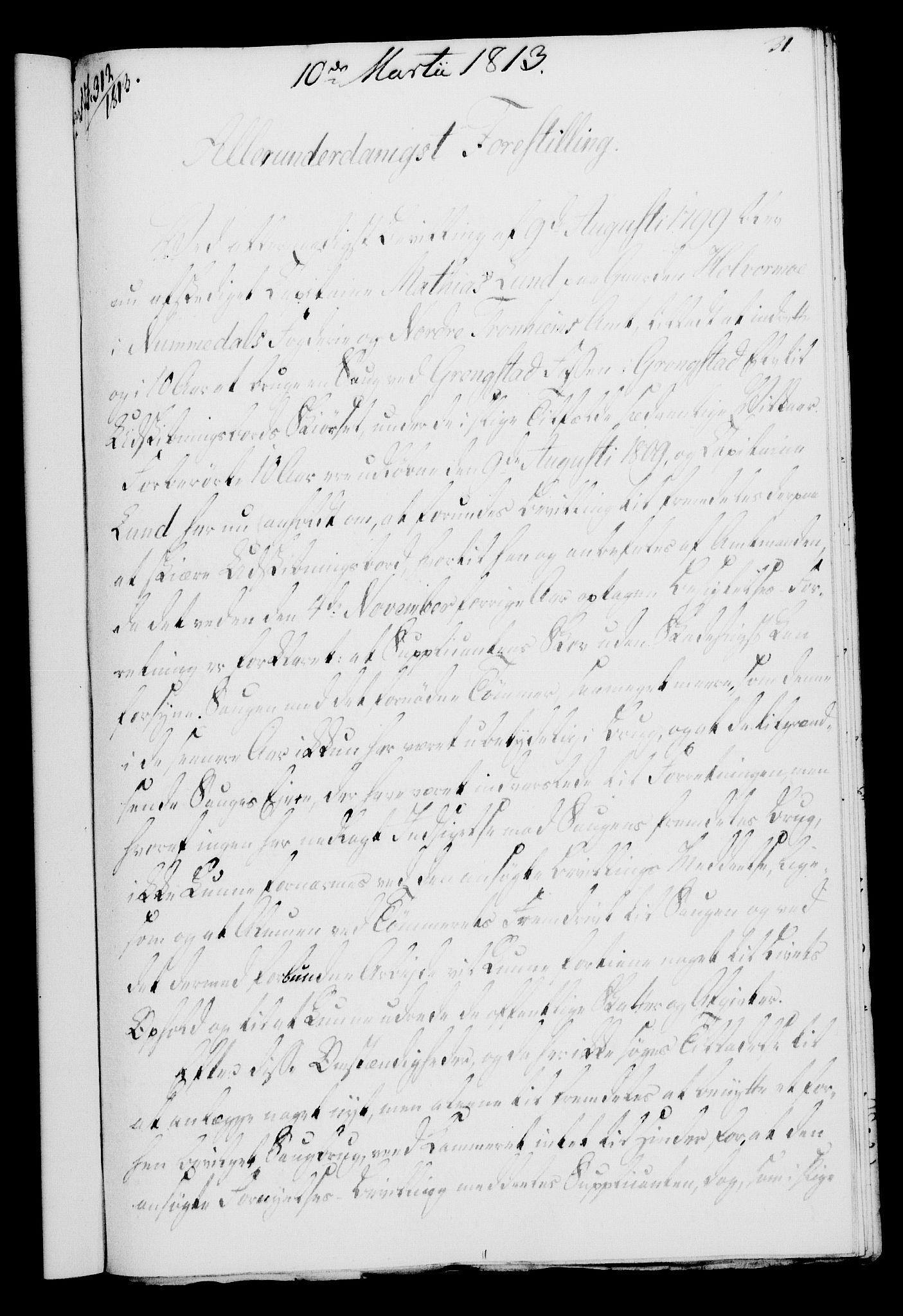 RA, Rentekammeret, Kammerkanselliet, G/Gf/Gfa/L0095: Norsk relasjons- og resolusjonsprotokoll (merket RK 52.95), 1813-1814, s. 134