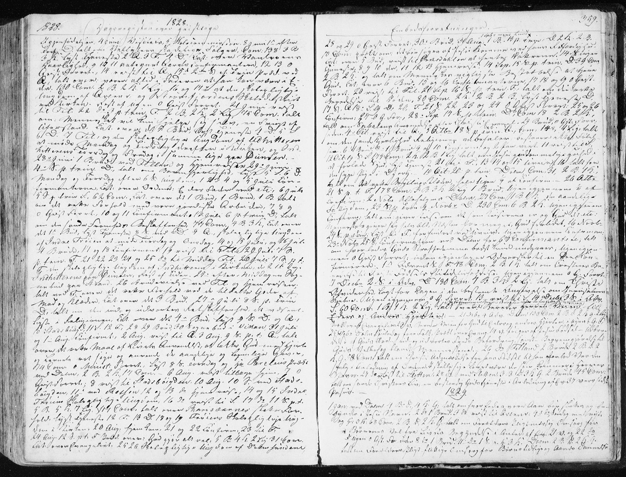 SAT, Ministerialprotokoller, klokkerbøker og fødselsregistre - Sør-Trøndelag, 634/L0528: Ministerialbok nr. 634A04, 1827-1842, s. 359