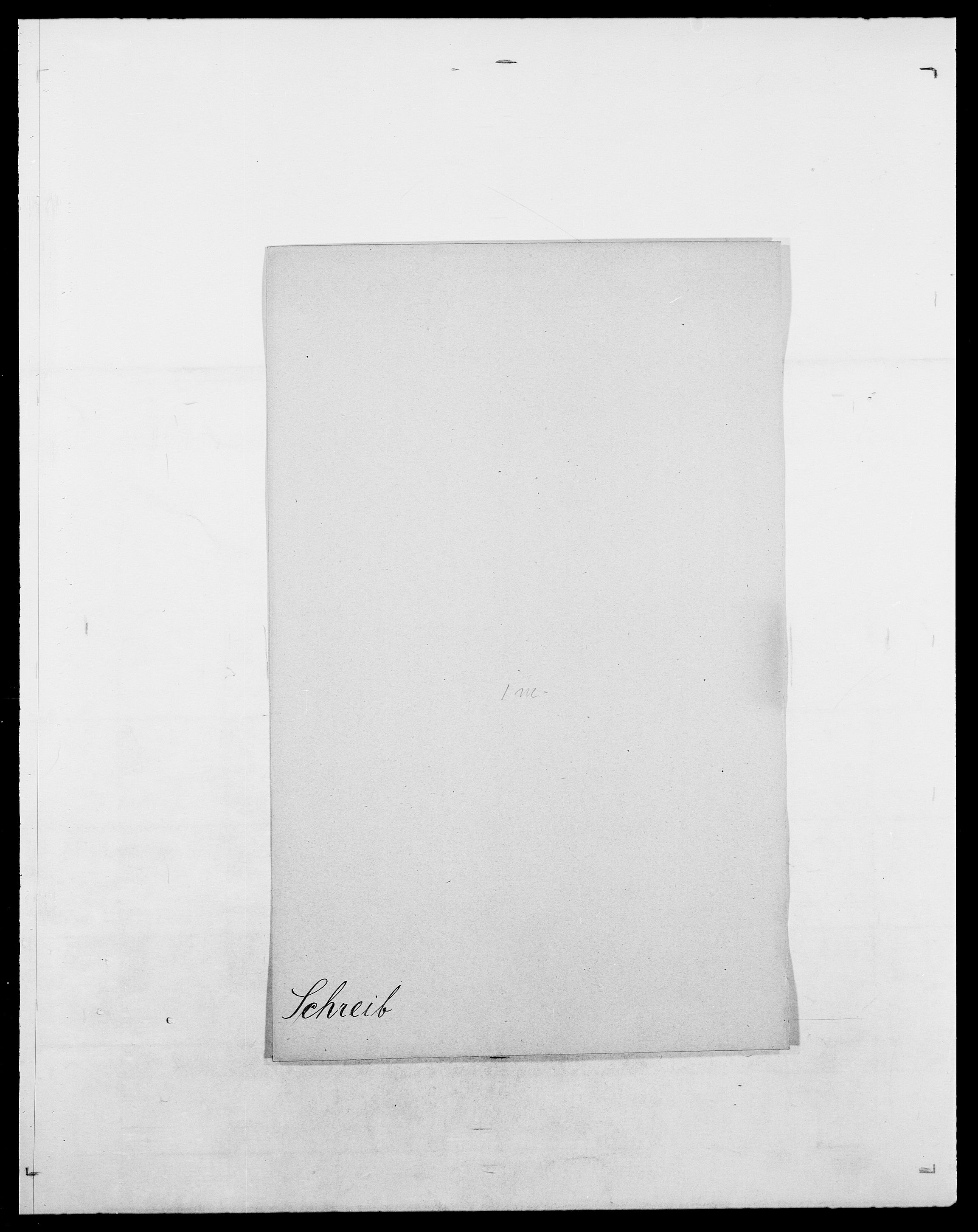 SAO, Delgobe, Charles Antoine - samling, D/Da/L0035: Schnabel - sjetman, s. 139