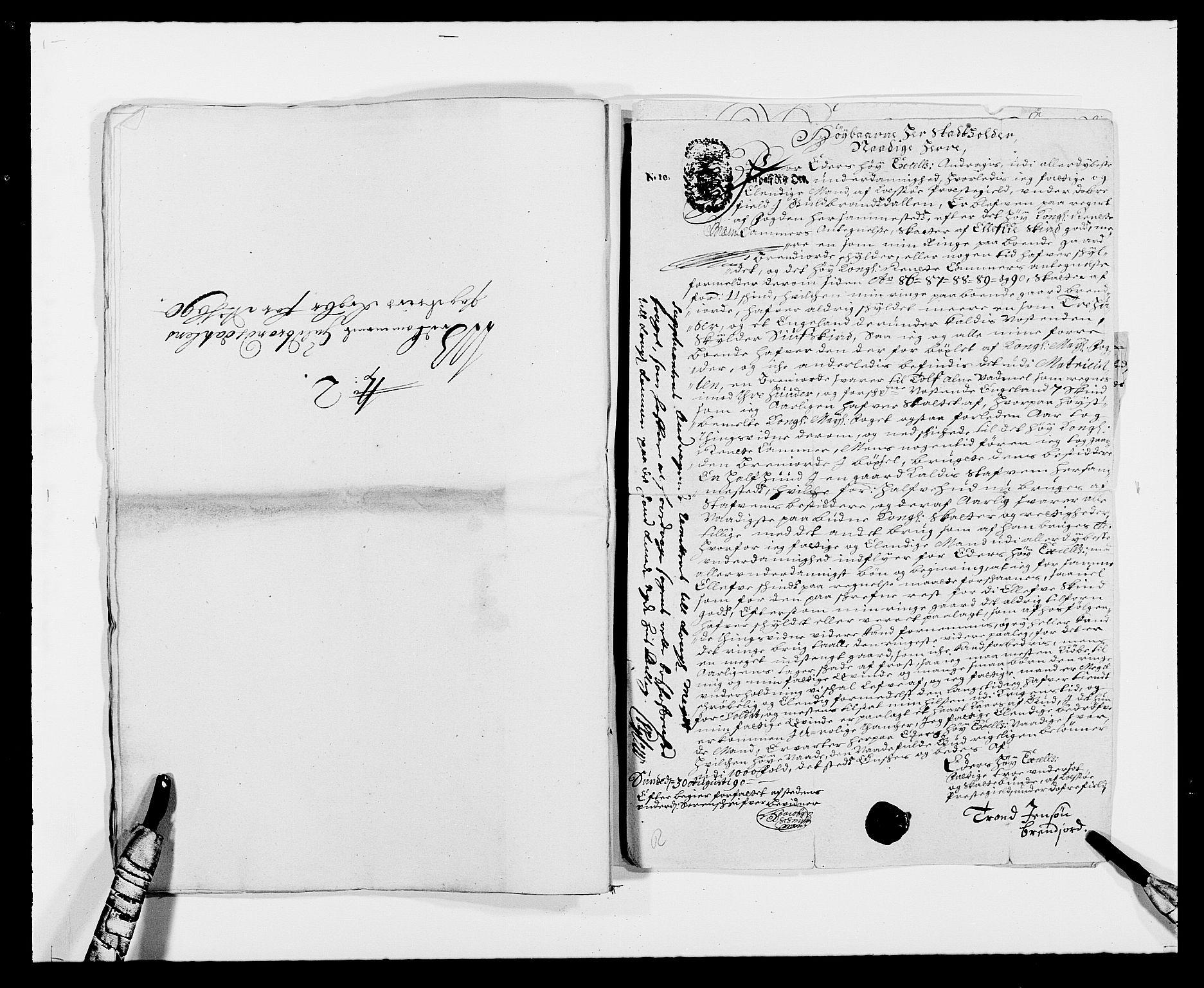 RA, Rentekammeret inntil 1814, Reviderte regnskaper, Fogderegnskap, R17/L1165: Fogderegnskap Gudbrandsdal, 1690-1692, s. 192