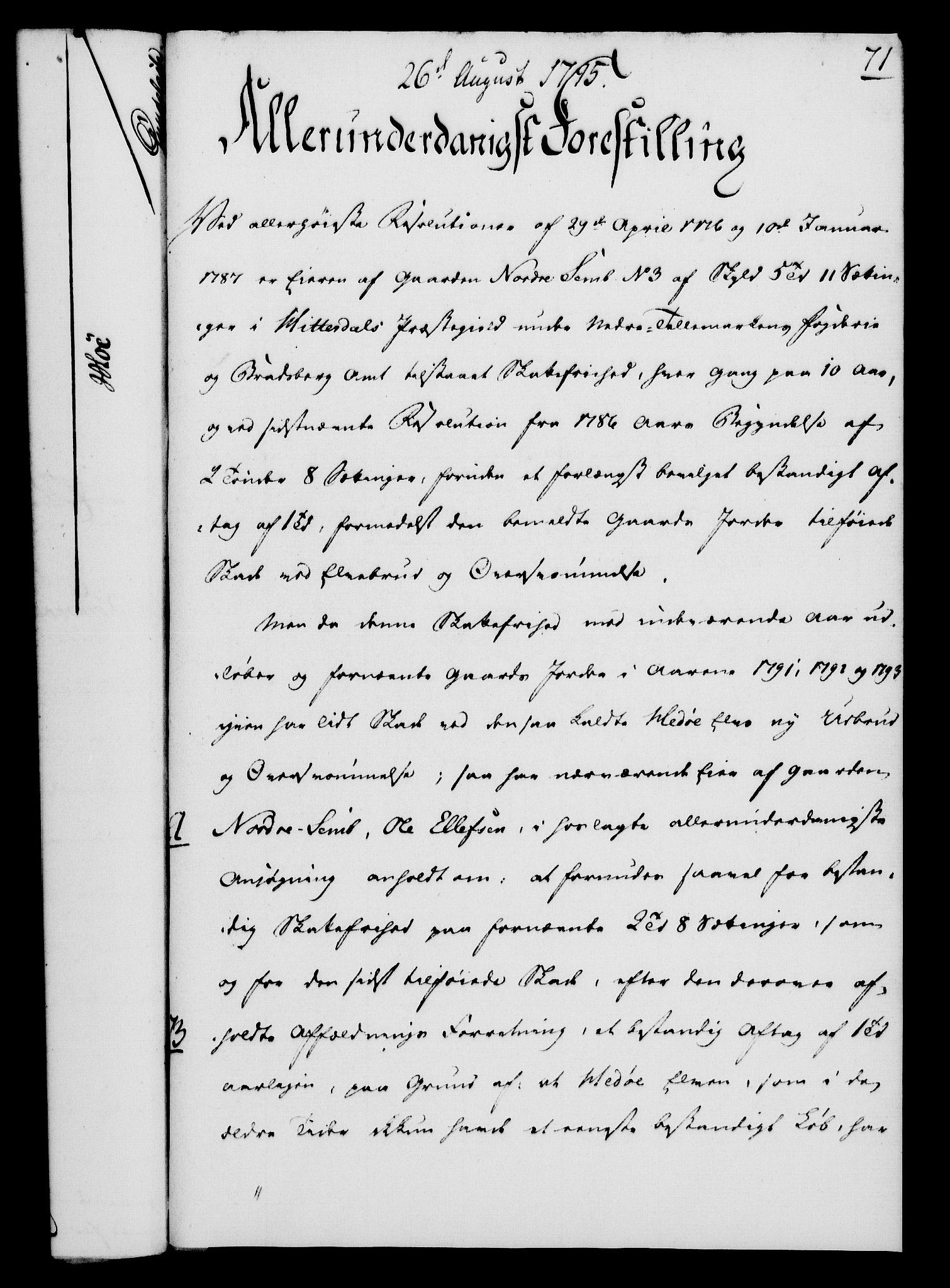 RA, Rentekammeret, Kammerkanselliet, G/Gf/Gfa/L0077: Norsk relasjons- og resolusjonsprotokoll (merket RK 52.77), 1795, s. 355