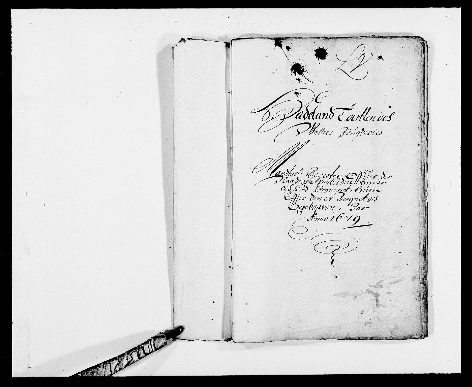 RA, Rentekammeret inntil 1814, Reviderte regnskaper, Fogderegnskap, R18/L1274: Fogderegnskap Hadeland, Toten og Valdres, 1679, s. 1