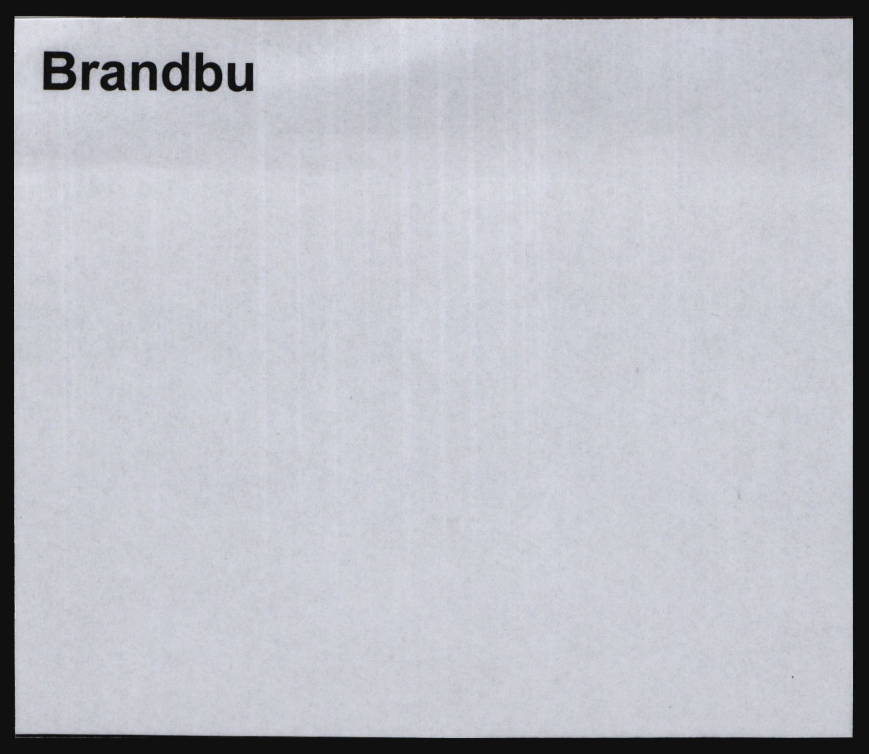SAH, Norges Brannkasse, Brandbu, s. 1