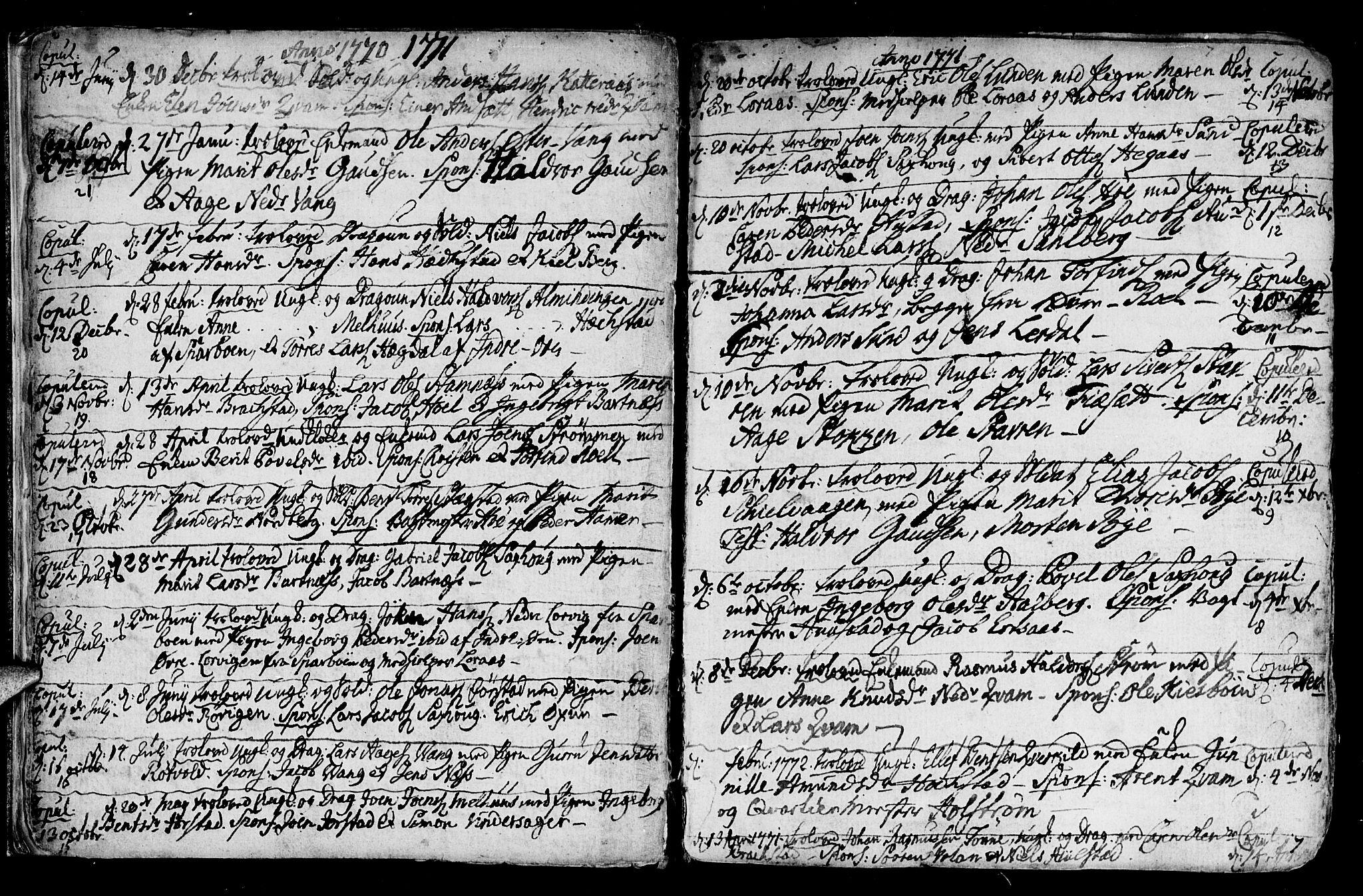 SAT, Ministerialprotokoller, klokkerbøker og fødselsregistre - Nord-Trøndelag, 730/L0273: Ministerialbok nr. 730A02, 1762-1802, s. 7