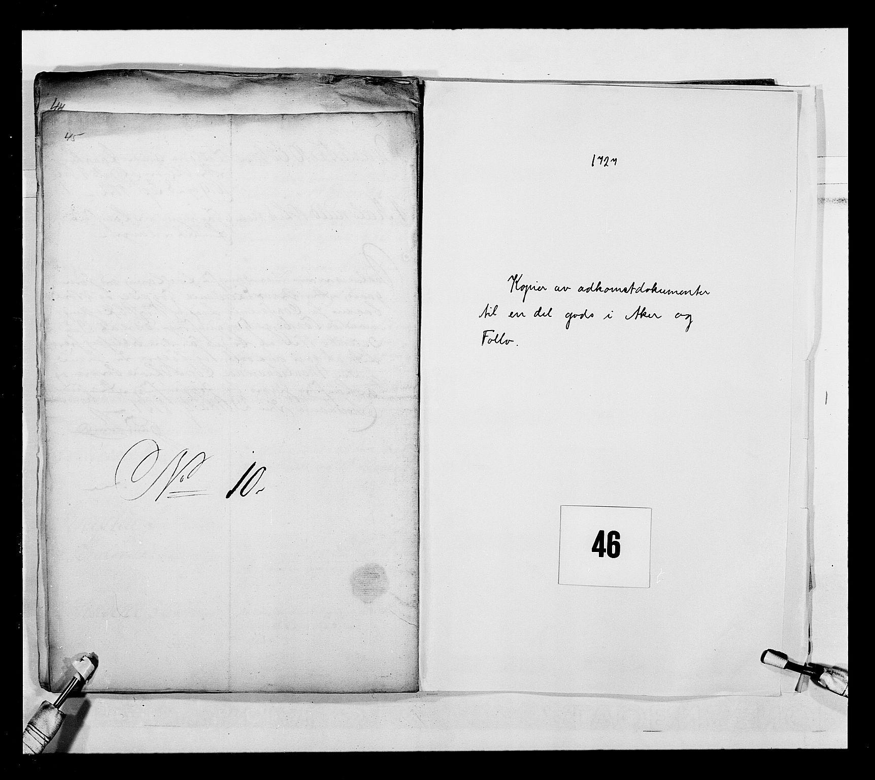 RA, Stattholderembetet 1572-1771, Ek/L0043: Jordebøker o.a. 1720-1728 vedkommende krongodset:, 1724-1728, s. 154