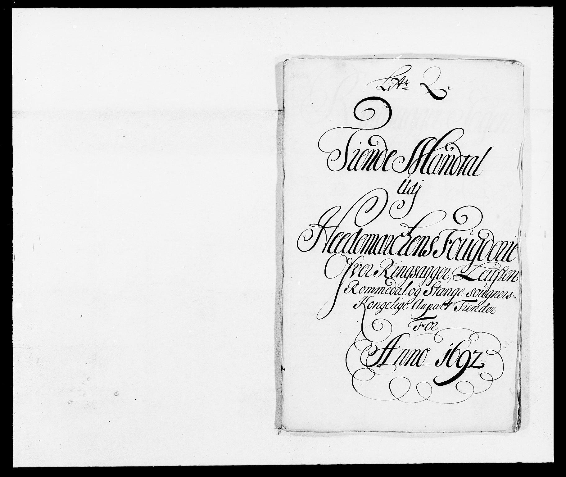 RA, Rentekammeret inntil 1814, Reviderte regnskaper, Fogderegnskap, R16/L1031: Fogderegnskap Hedmark, 1689-1692, s. 46