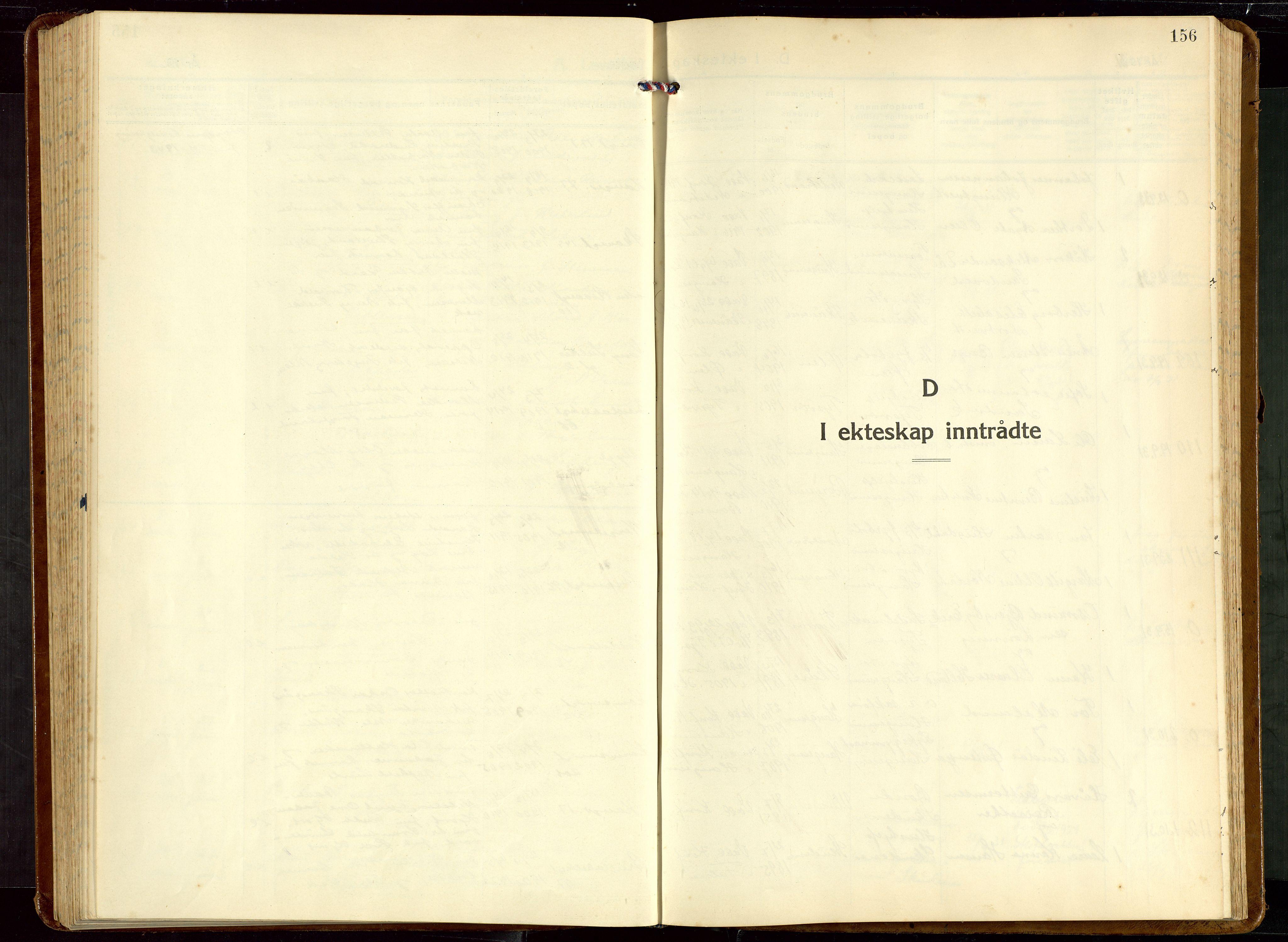 SAST, Haugesund sokneprestkontor, H/Ha/Hab/L0013: Klokkerbok nr. B 13, 1931-1943, s. 156