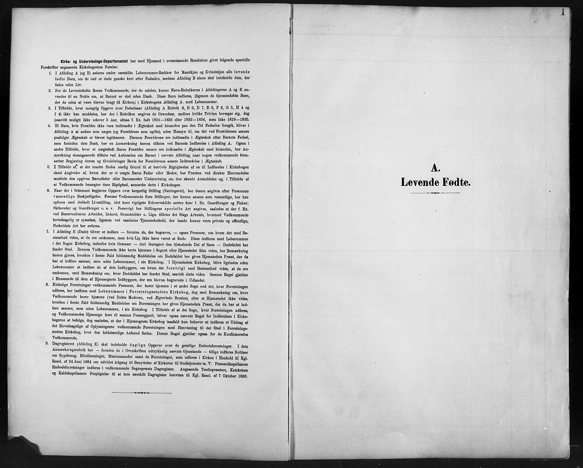 SAH, Fåberg prestekontor, Klokkerbok nr. 11, 1901-1921, s. 1