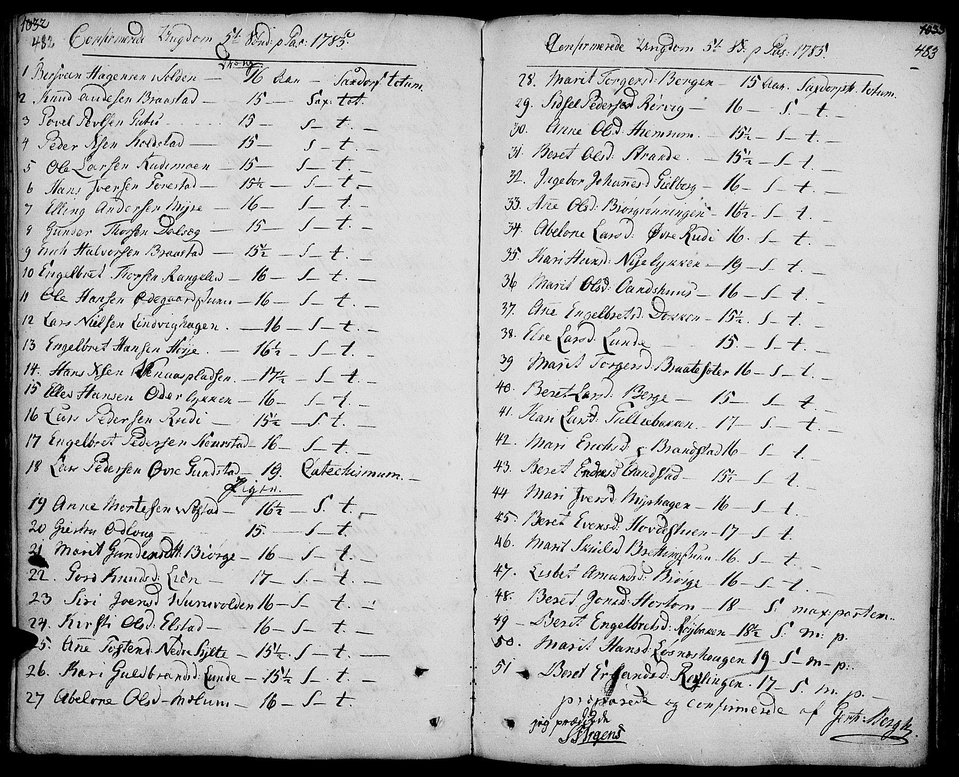 SAH, Ringebu prestekontor, Ministerialbok nr. 3, 1781-1820, s. 482-483