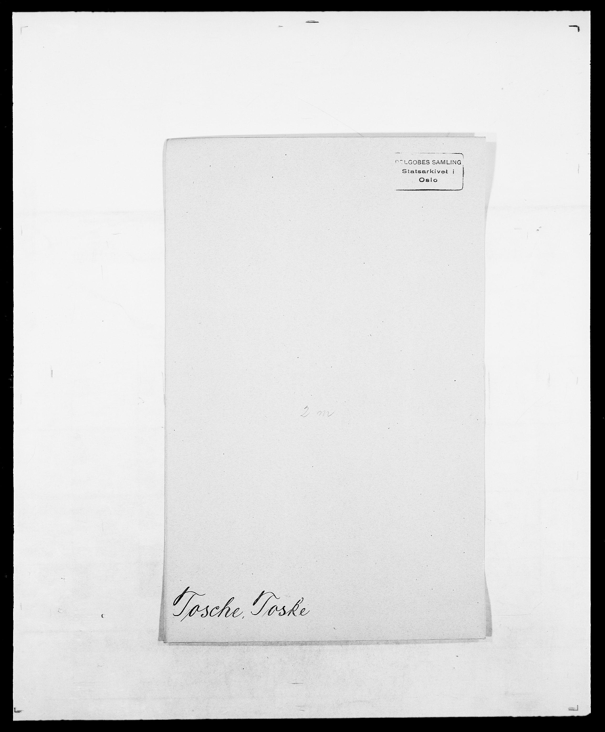 SAO, Delgobe, Charles Antoine - samling, D/Da/L0039: Thorsen - Urup, s. 268