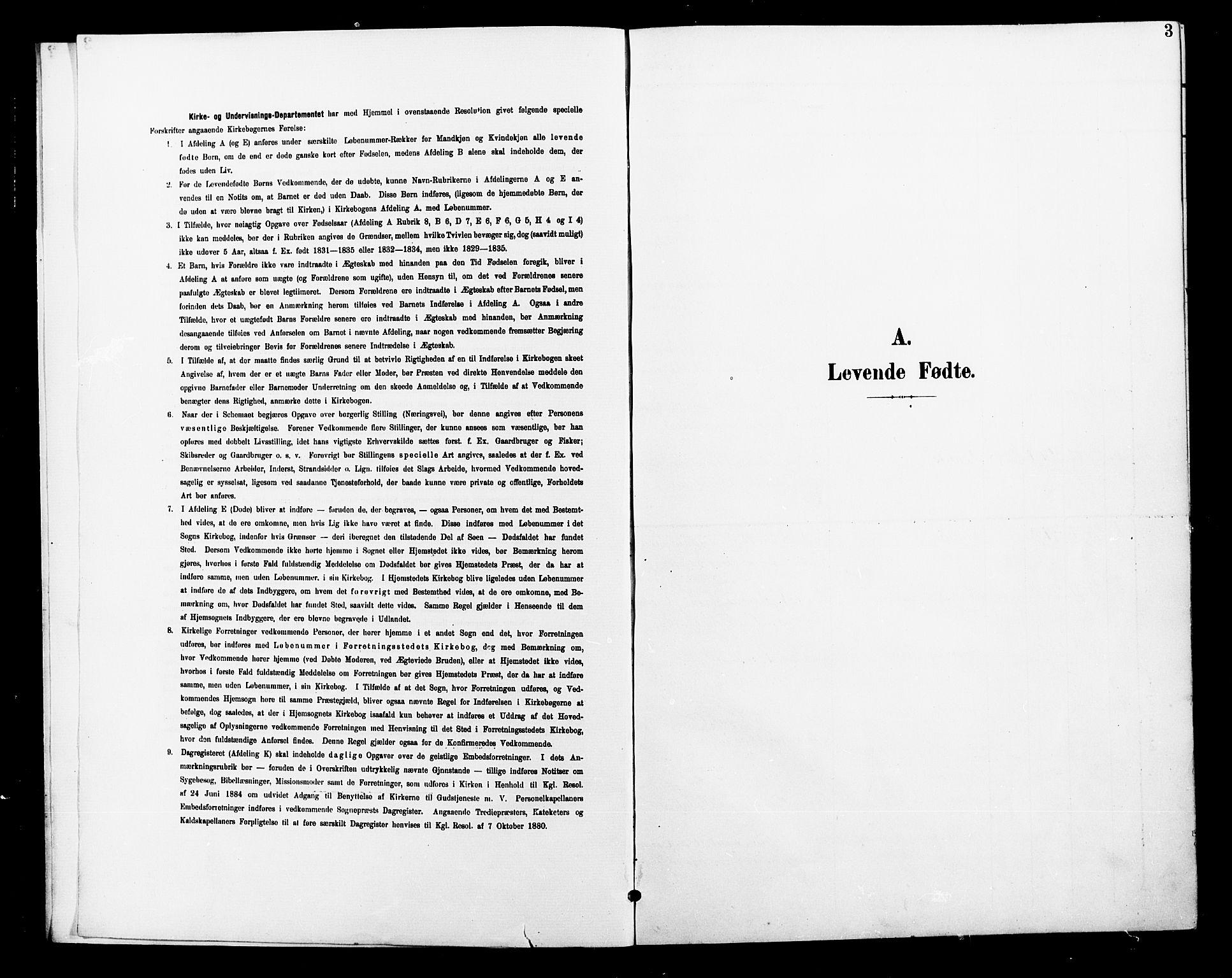 SAT, Ministerialprotokoller, klokkerbøker og fødselsregistre - Nord-Trøndelag, 739/L0375: Klokkerbok nr. 739C03, 1898-1908, s. 3